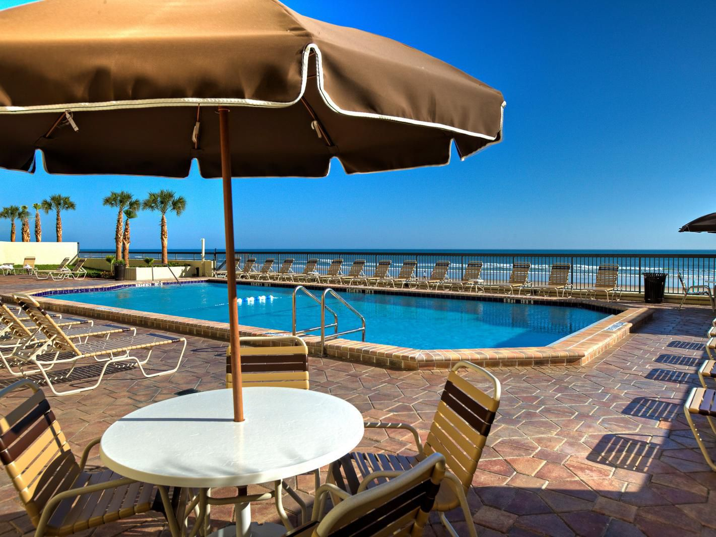 Beachside Pool Deck
