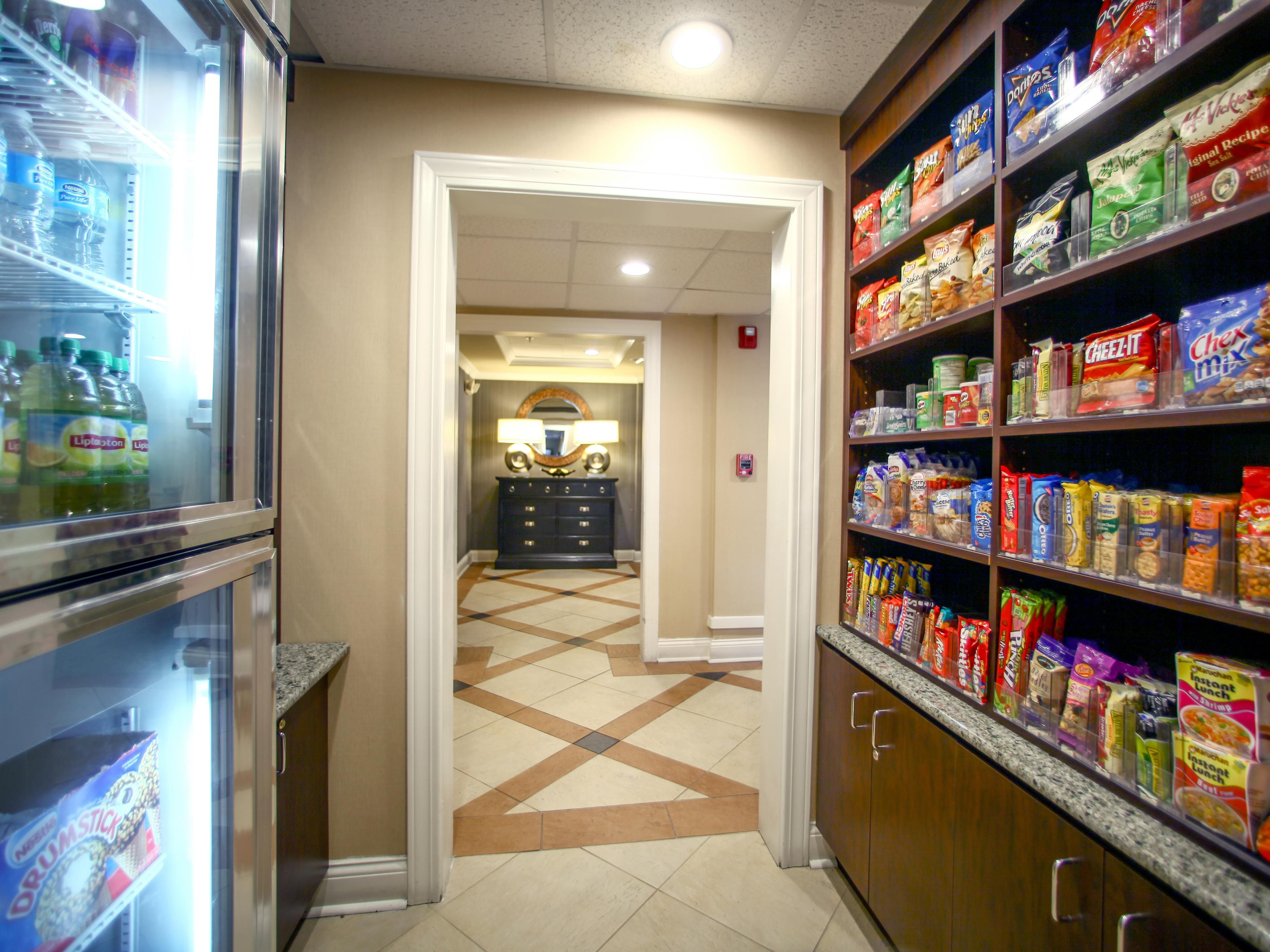 Snacks and Pharmacy Items