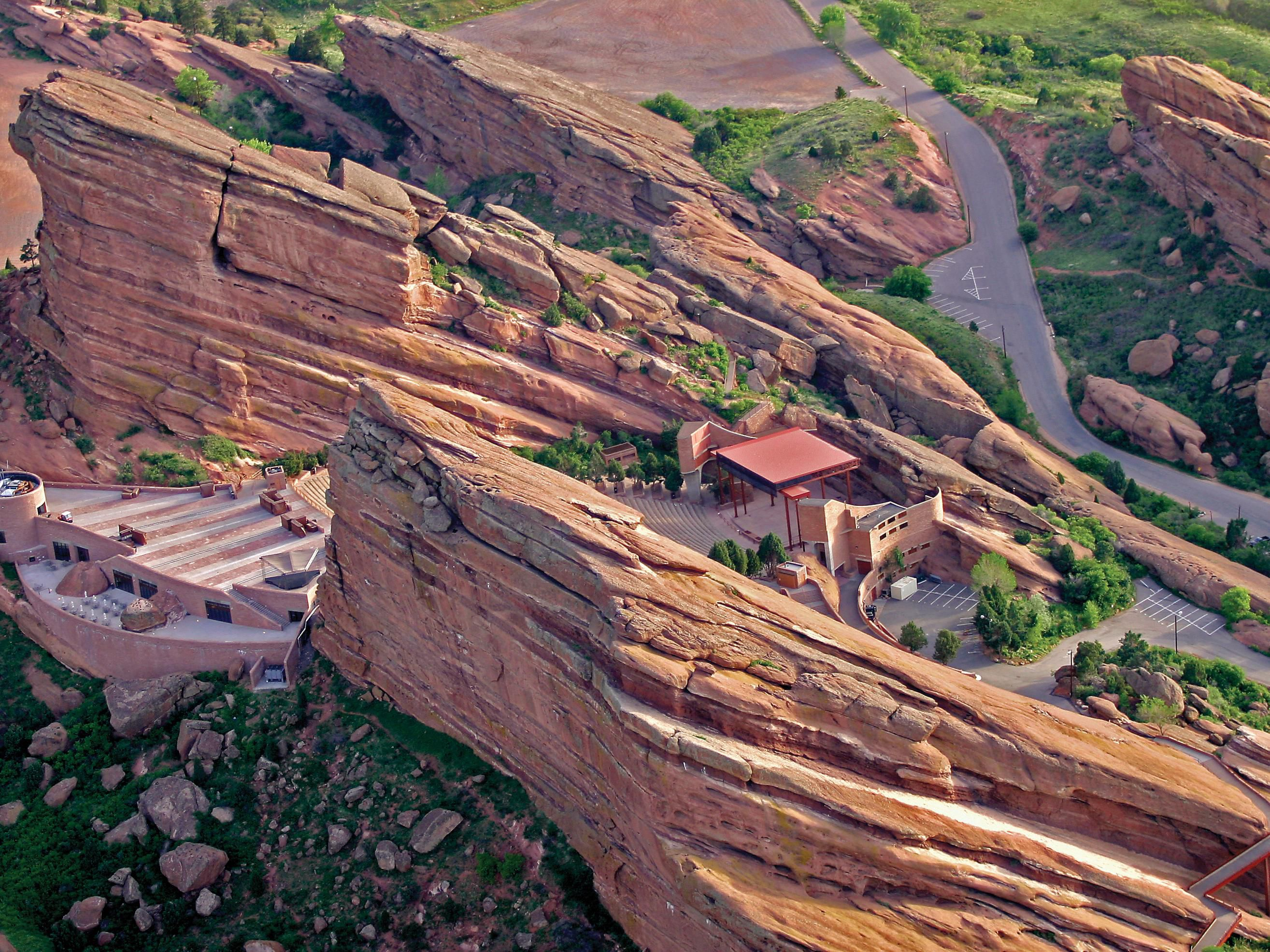 Catch A Concert At Breathtaking Red Rocks.