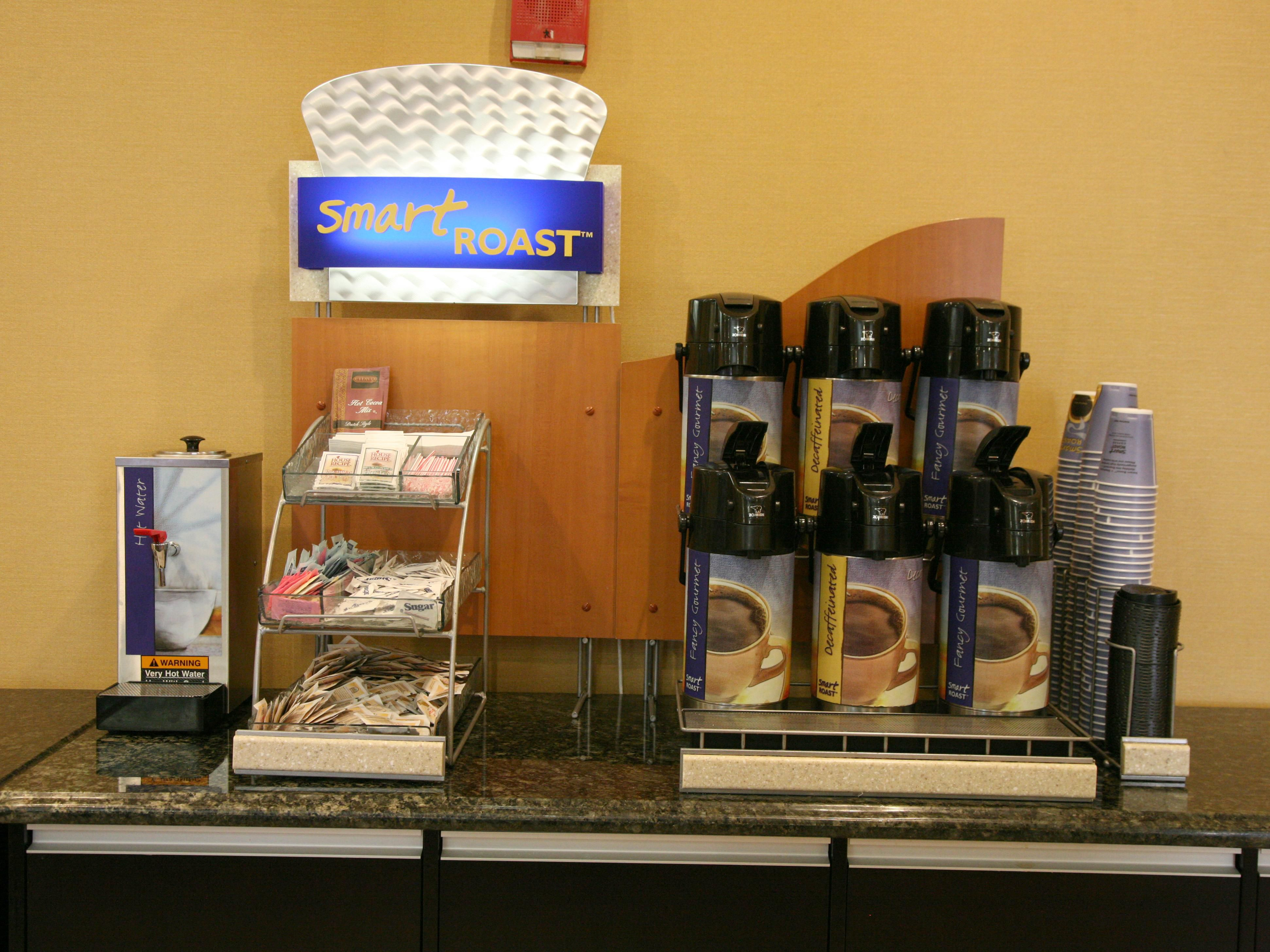 Free Coffee is Available 24 hours  and Located near the Main Lobby