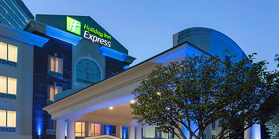 Image result for holiday inn express and suites tower center