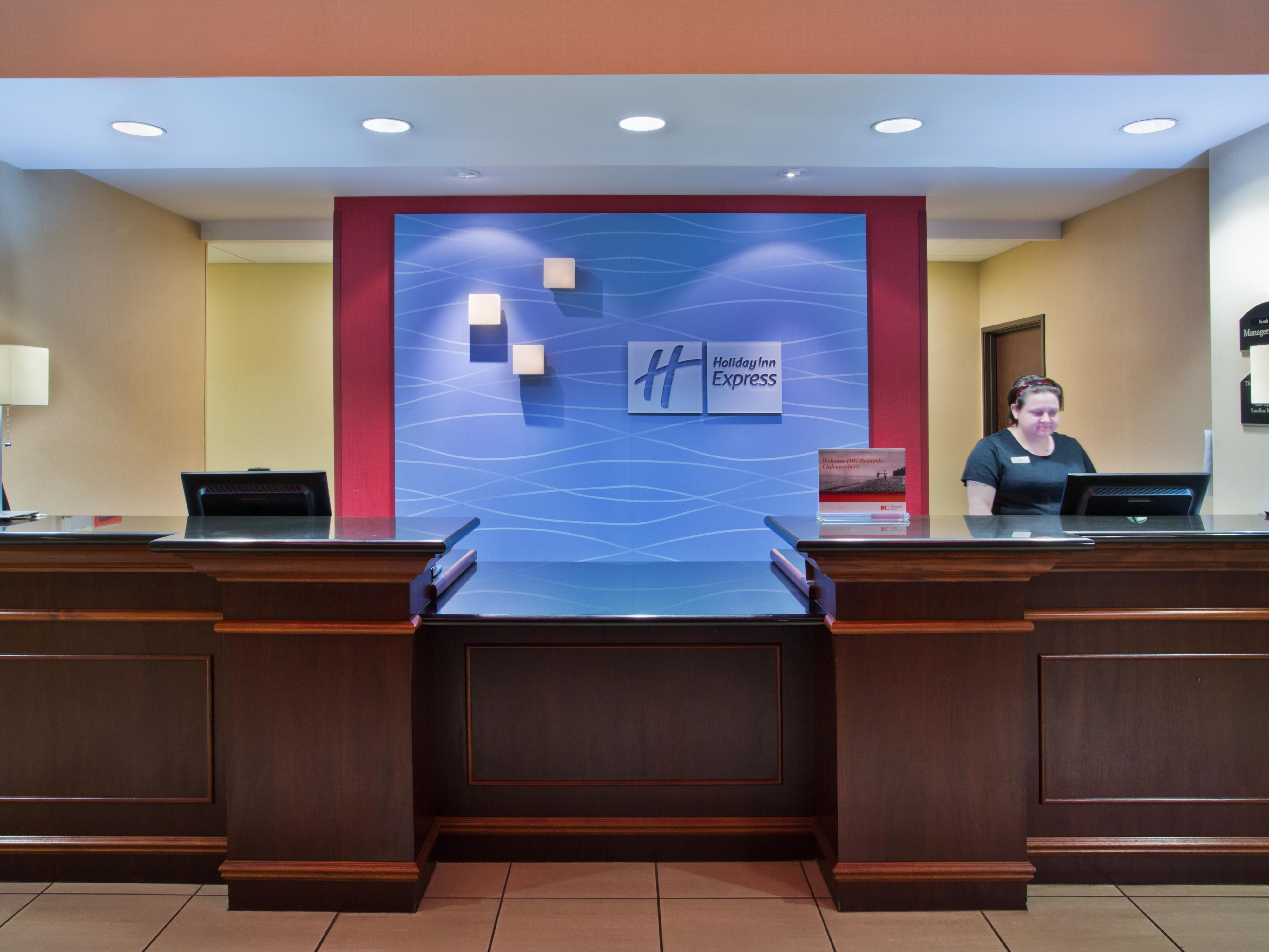 Inviting Front Desk