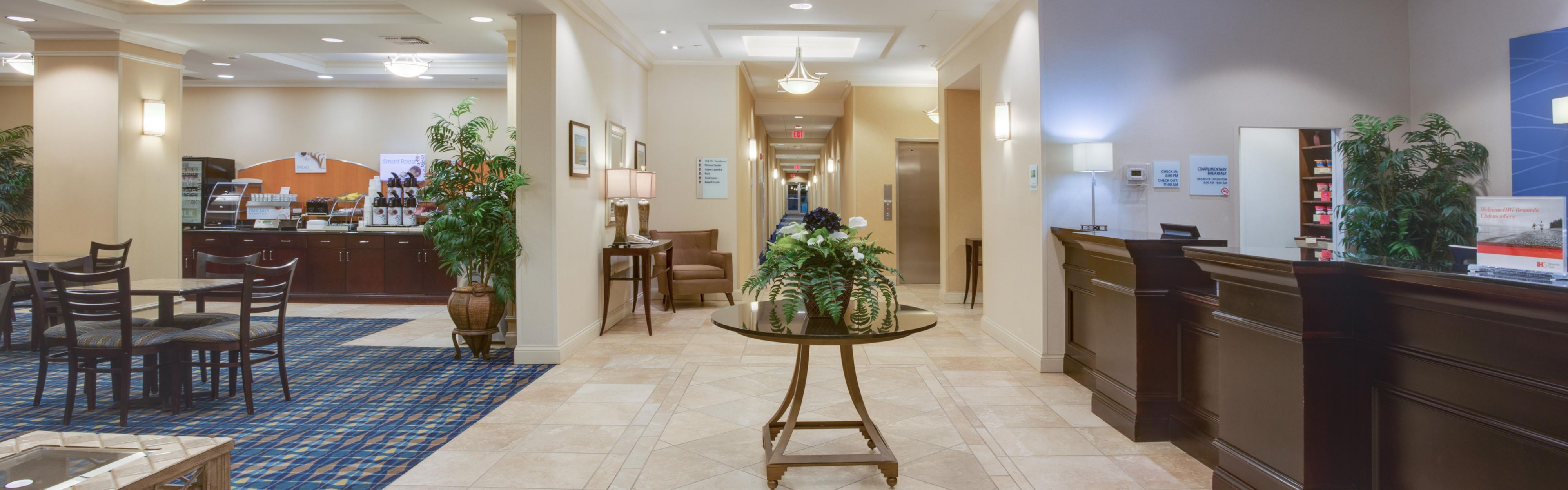 Our Inviting Hotel Entrance; Relax In Our Comfortable Hotel Lobby ...