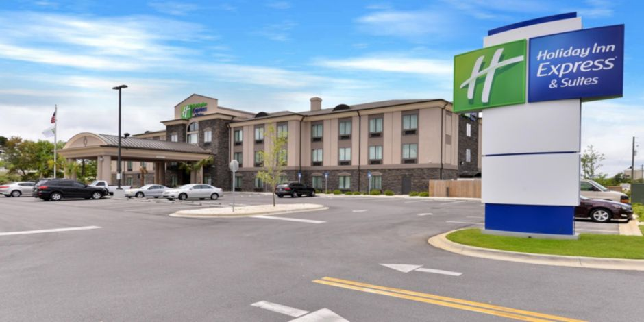 Holiday Inn Express And Suites Fort Walton Beach Hotel Exterior