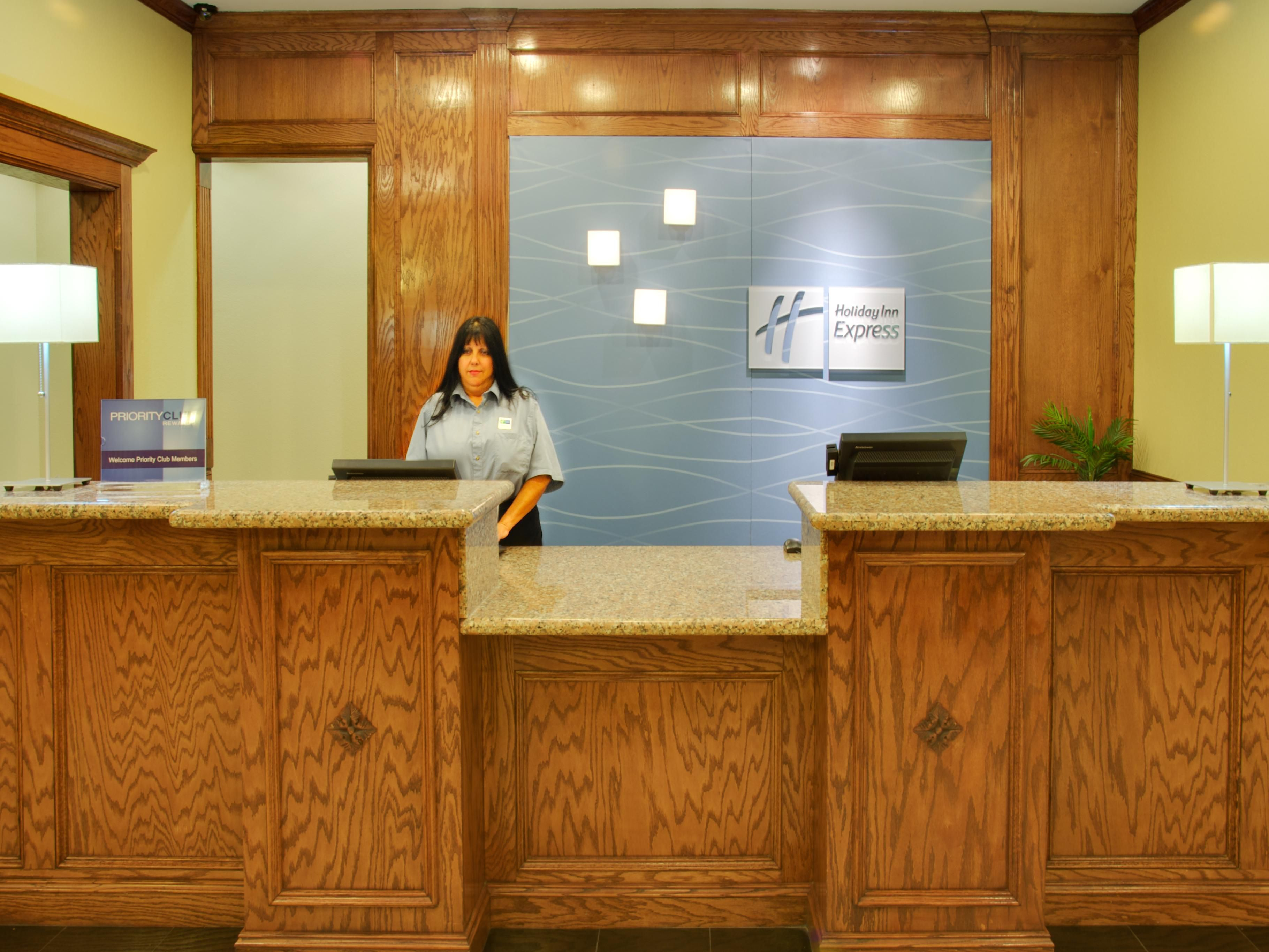 Hotel Lobby Holiday Inn Express & Suites Galveston Beach