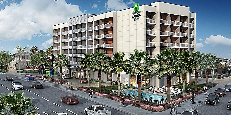 Beachfront Hotels In Galveston Tx Holiday Inn Express