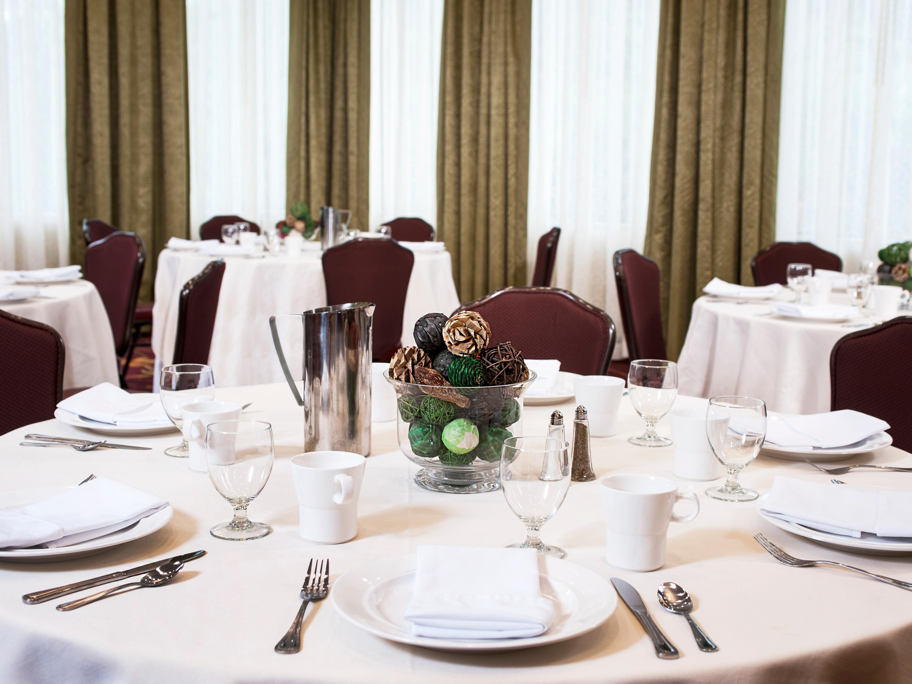 The Oak Room is perfect for events hosting up to 230 guests