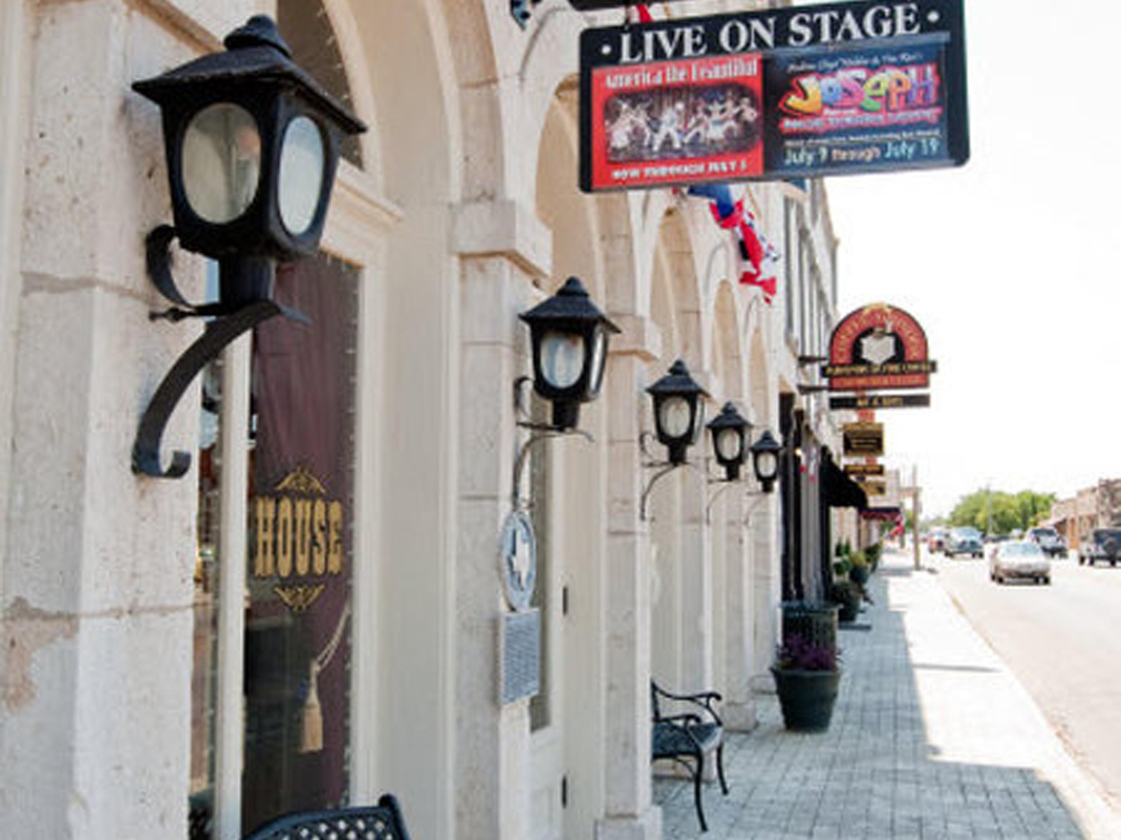 Take In A Show At The Newly Renovated Granbury Opera House