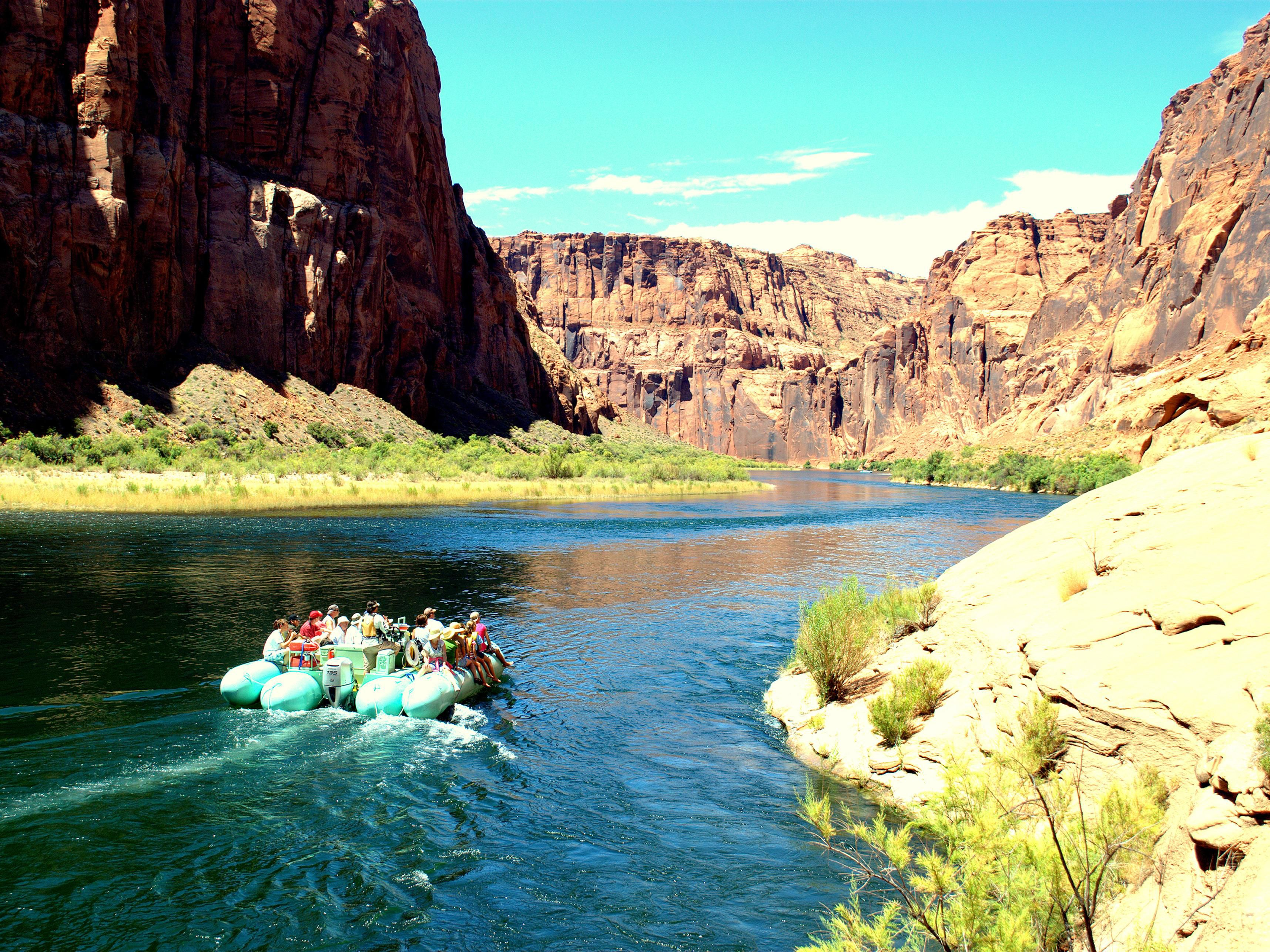 Float on one of the most dramatic rivers in the western US