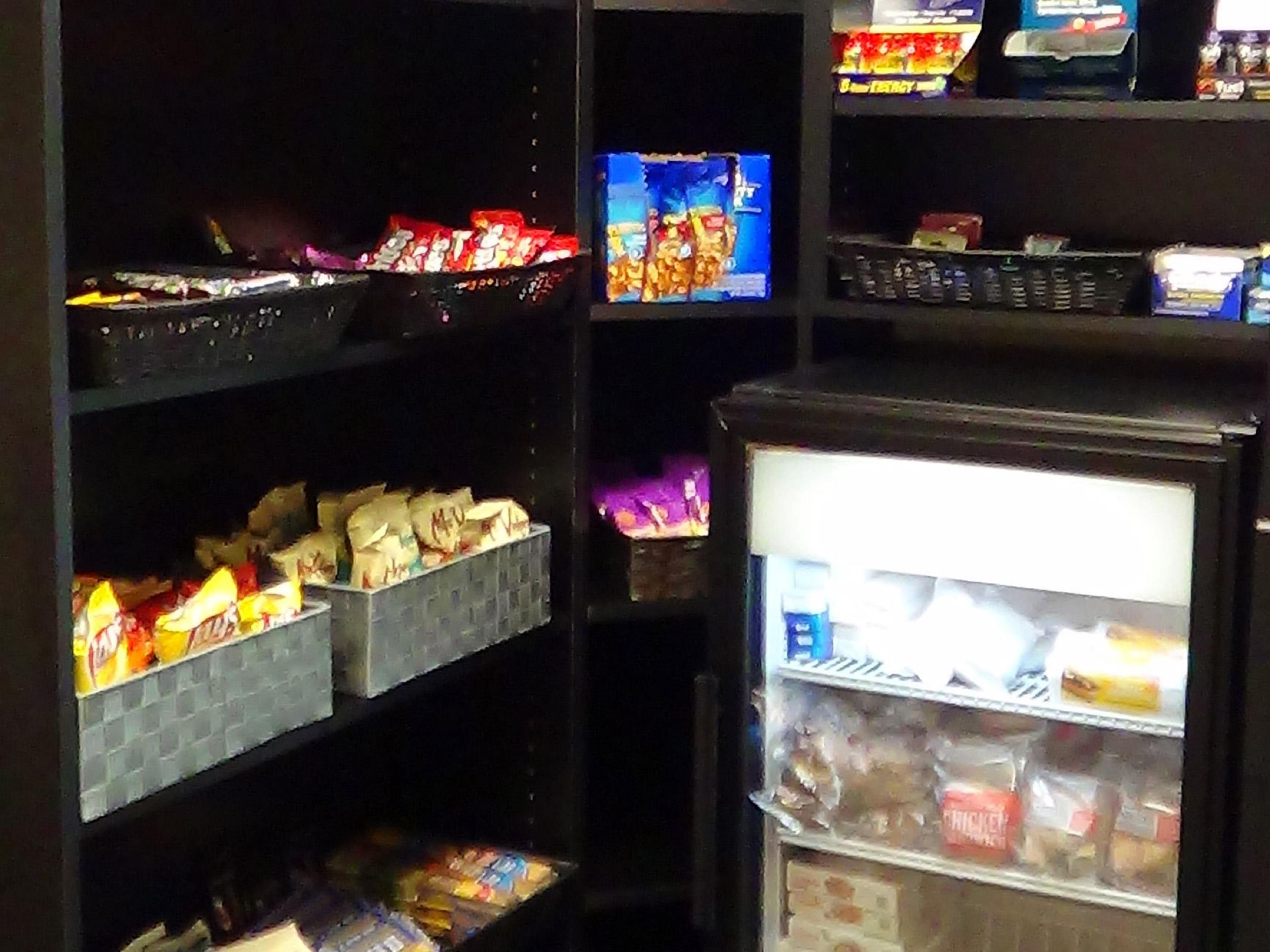 Gift Shop - 24 hour access to snacks and treats