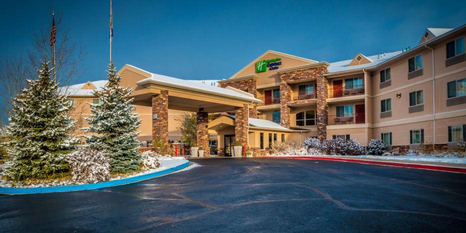 Hotel Exterior Holiday Inn Express Gunnison Colorado