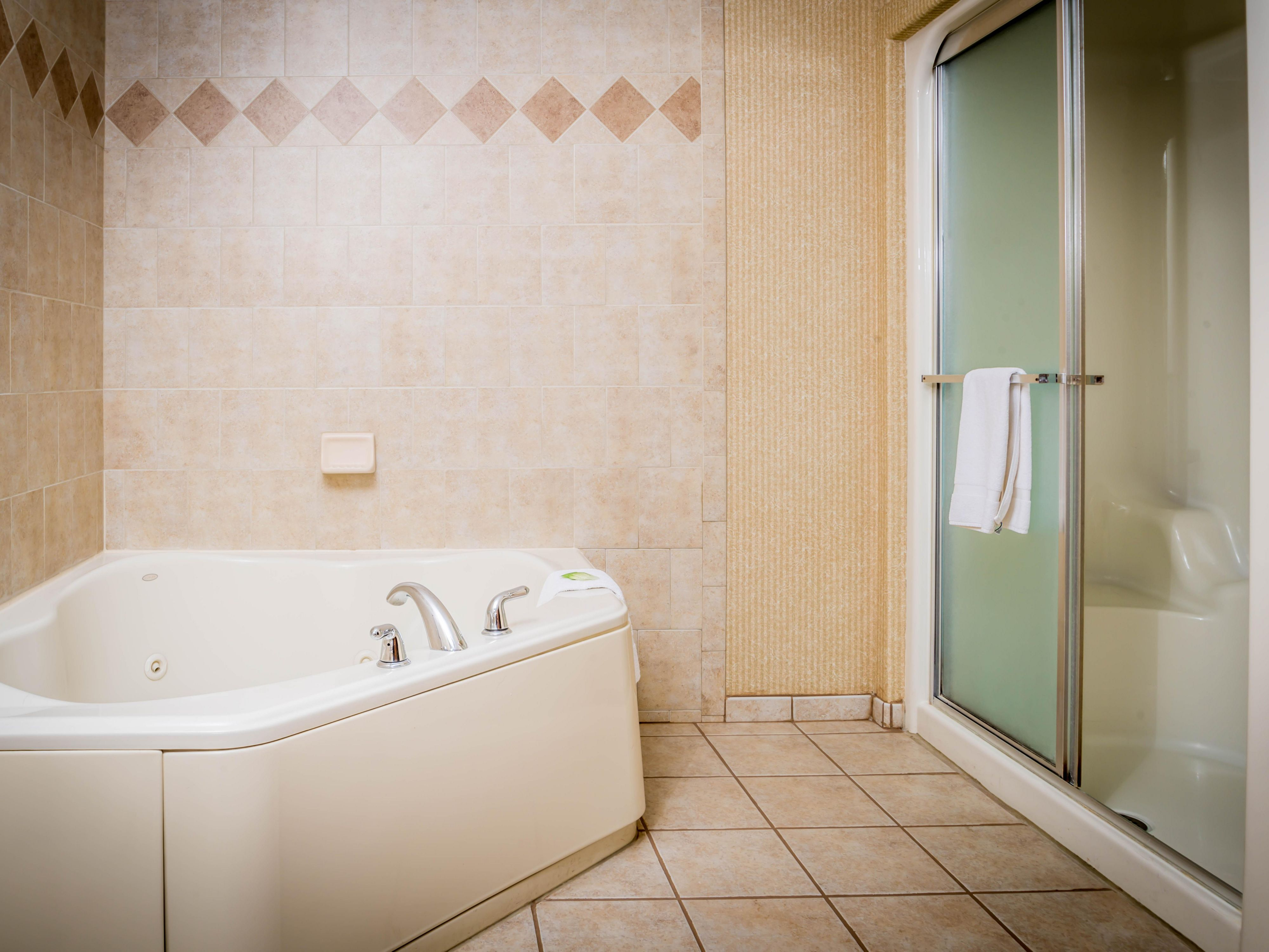 Jacuzzi Suite with Steam Shower