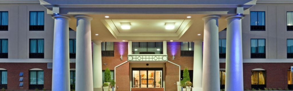 Hotel Canopy At Night