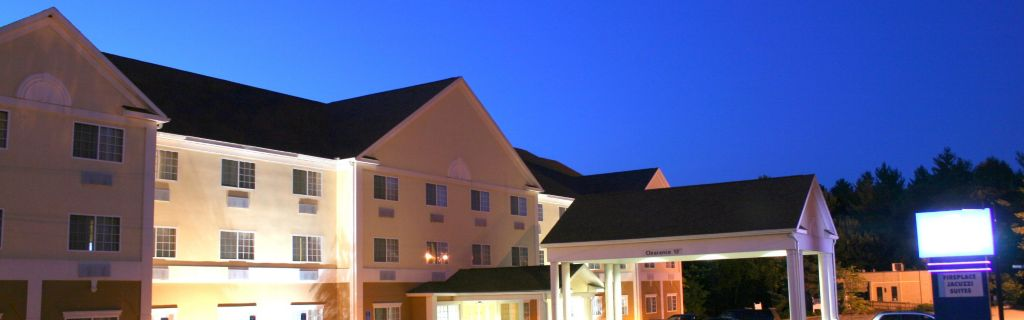 Hotel Exterior At Night