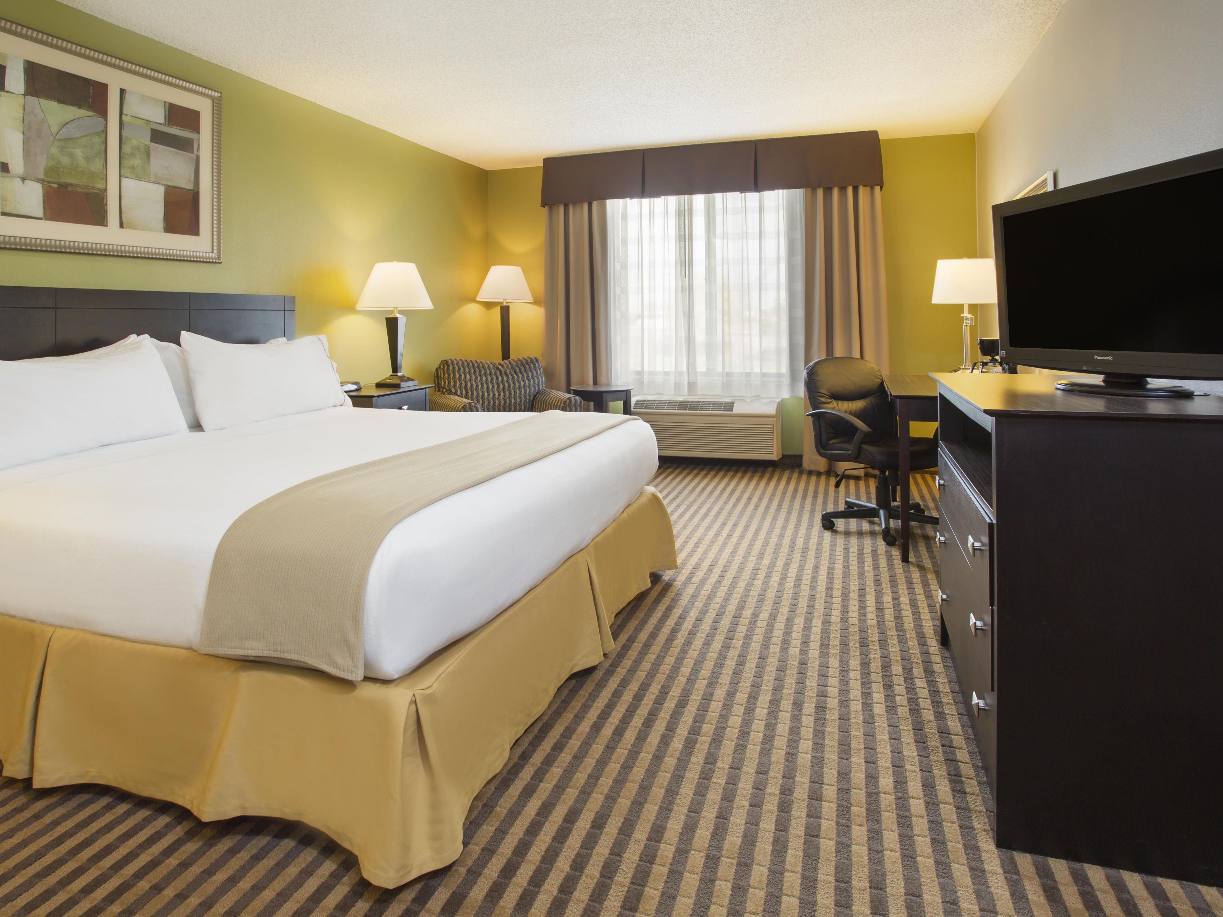 Holiday Inn Express & Suites Kalamazoo One King Bed Standard