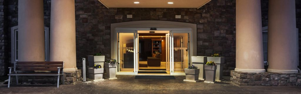 Our Inviting Hotel Entrance