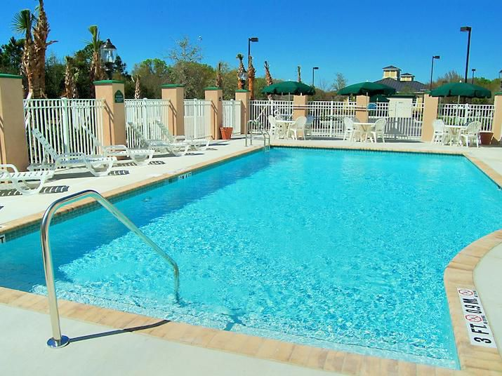 Cool off in our outdoor pool!