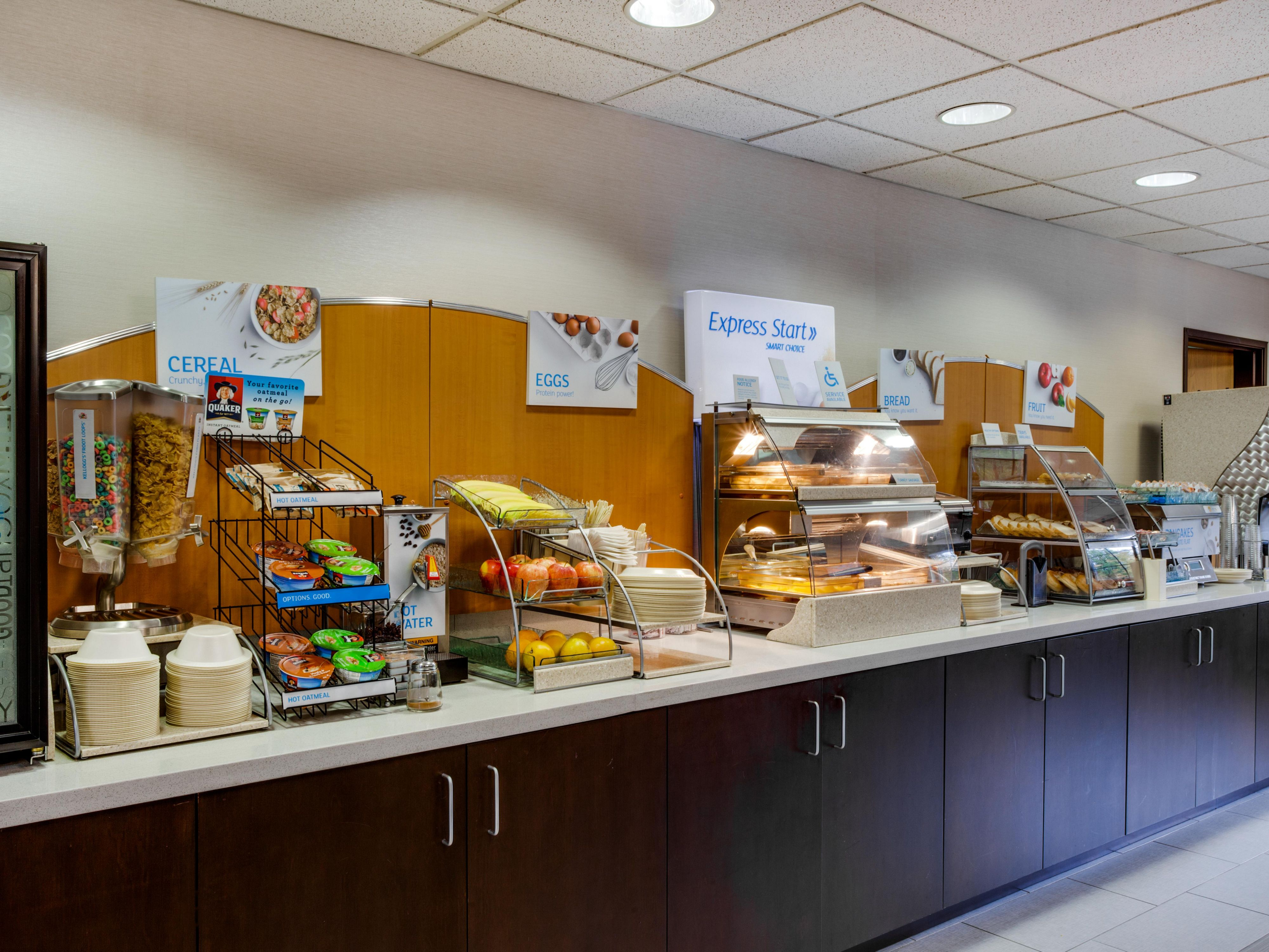 Full Buffet Breakfast with wide selection to make it a great day!