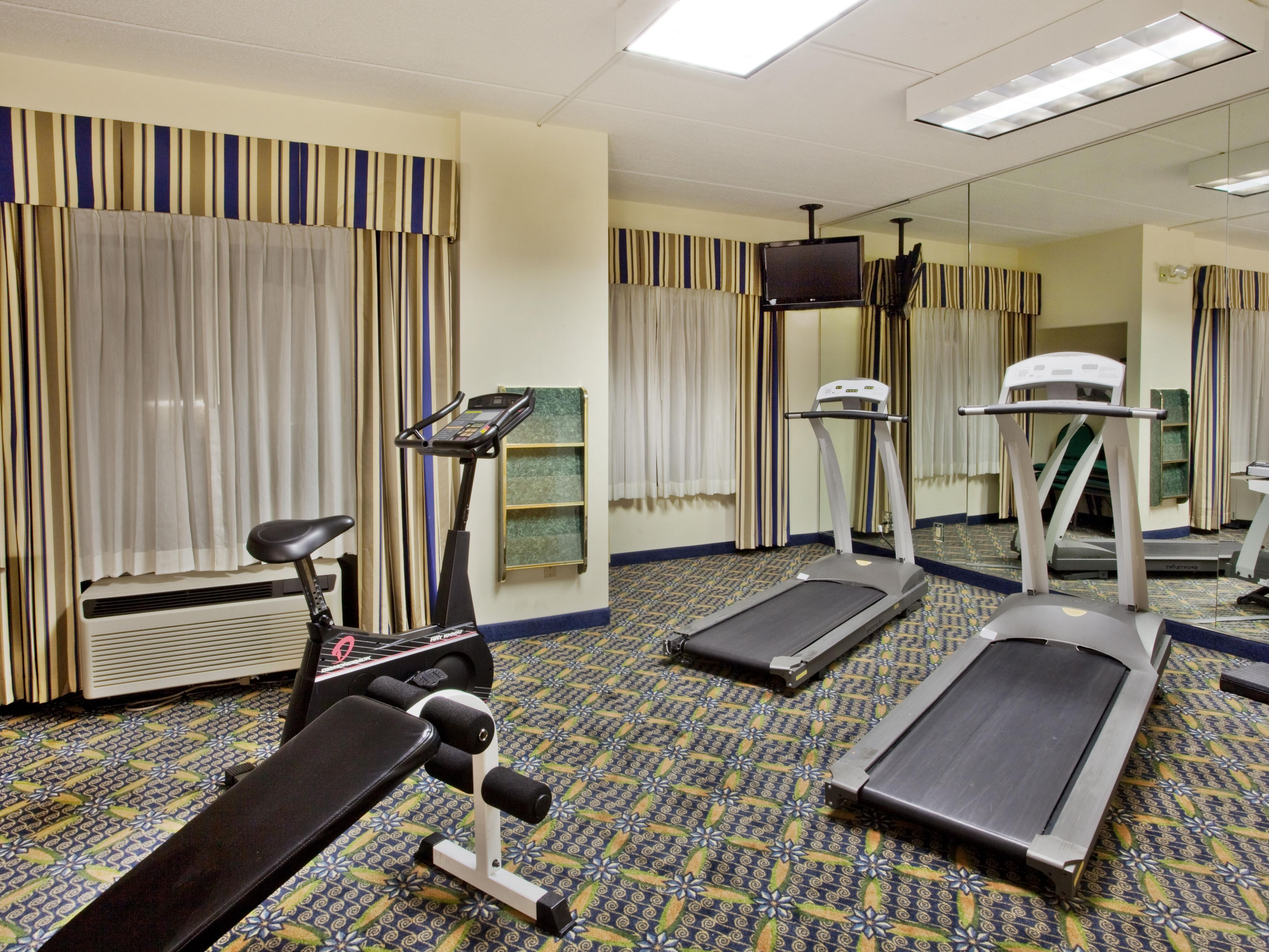 Newly Remodeled Fitness Center - Holiday Inn Express Lawrenceville