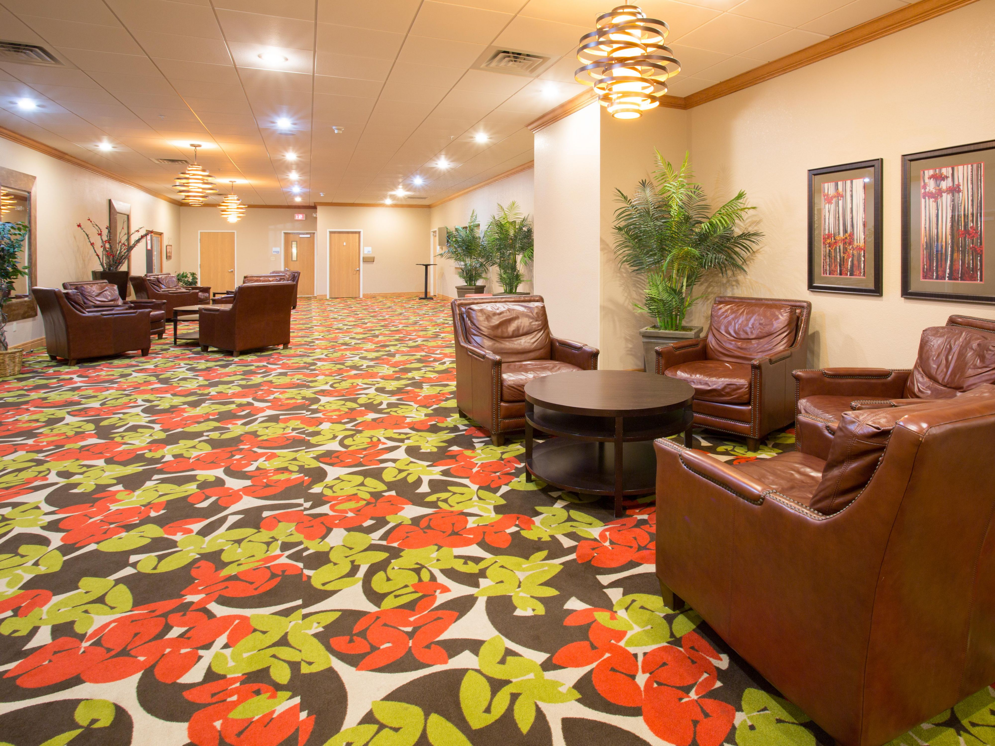 Pre-function Area at Holiday Inn Express Lexington Nebraska