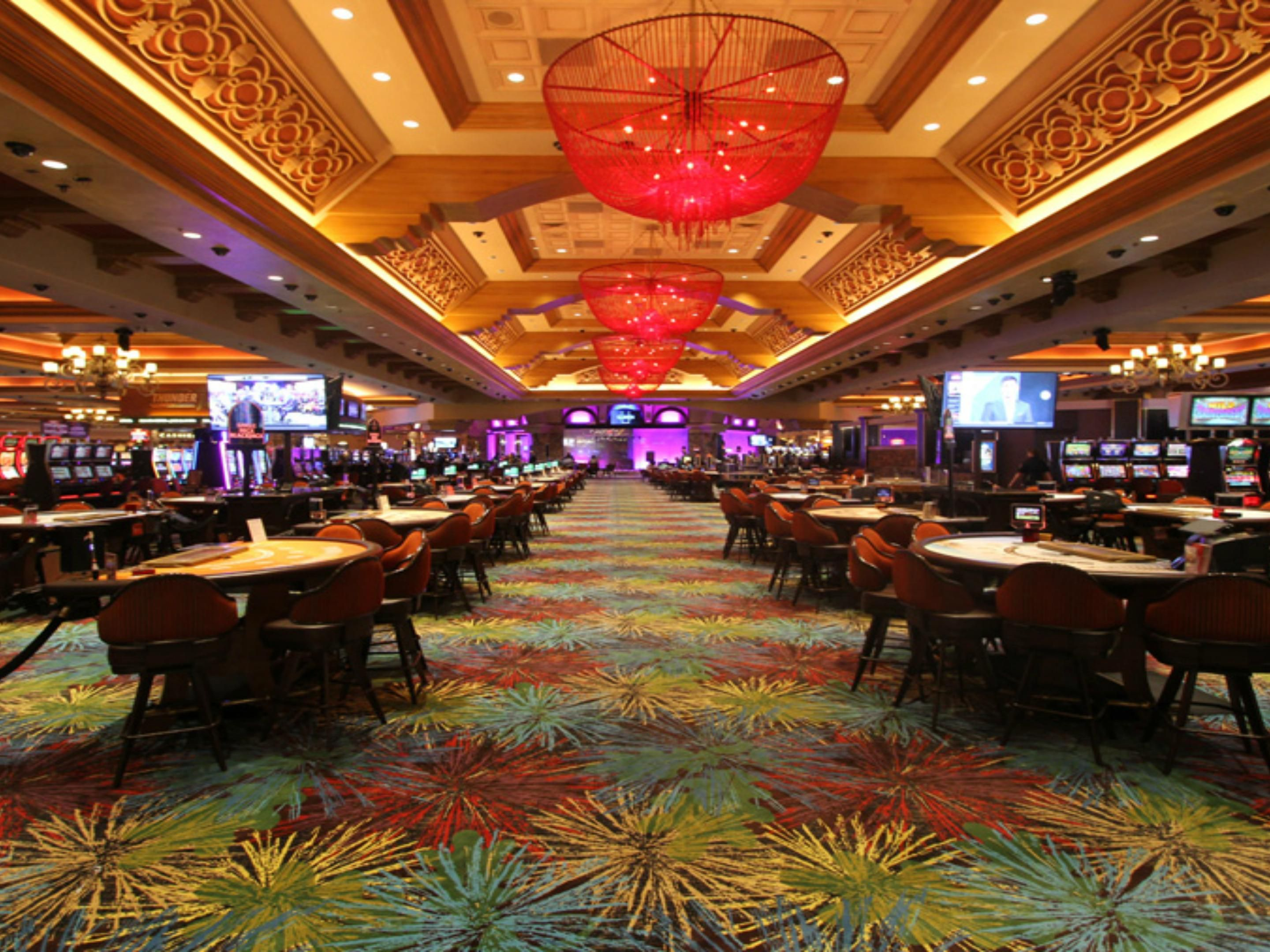Thunder Valley Casino with 144,000 sq. feet of gaming Excitement!