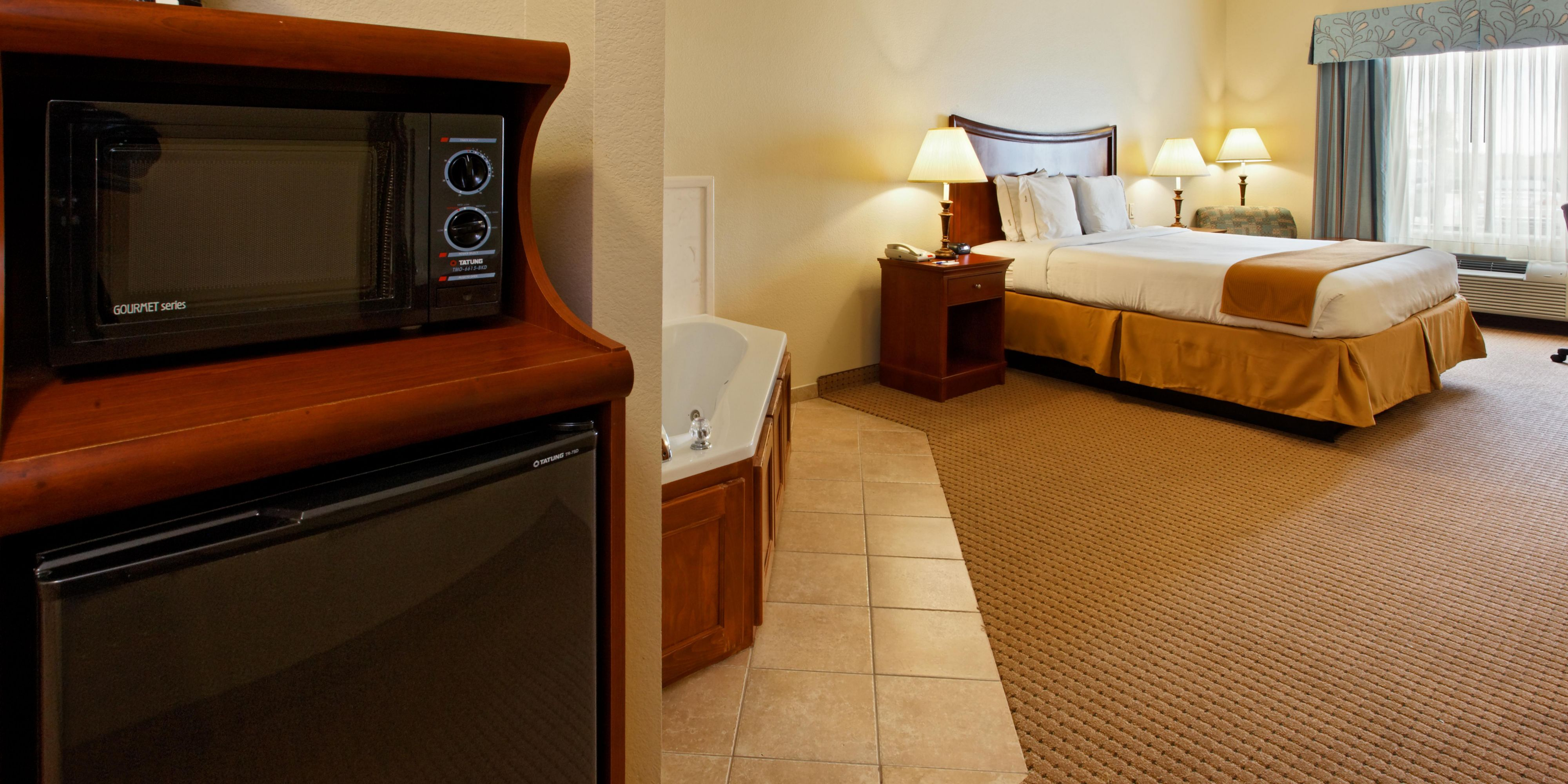 Holiday Inn Express Suites Mansfield Hotel By IHG - 1551 us hwy 287 n mansfield tx 76063 map