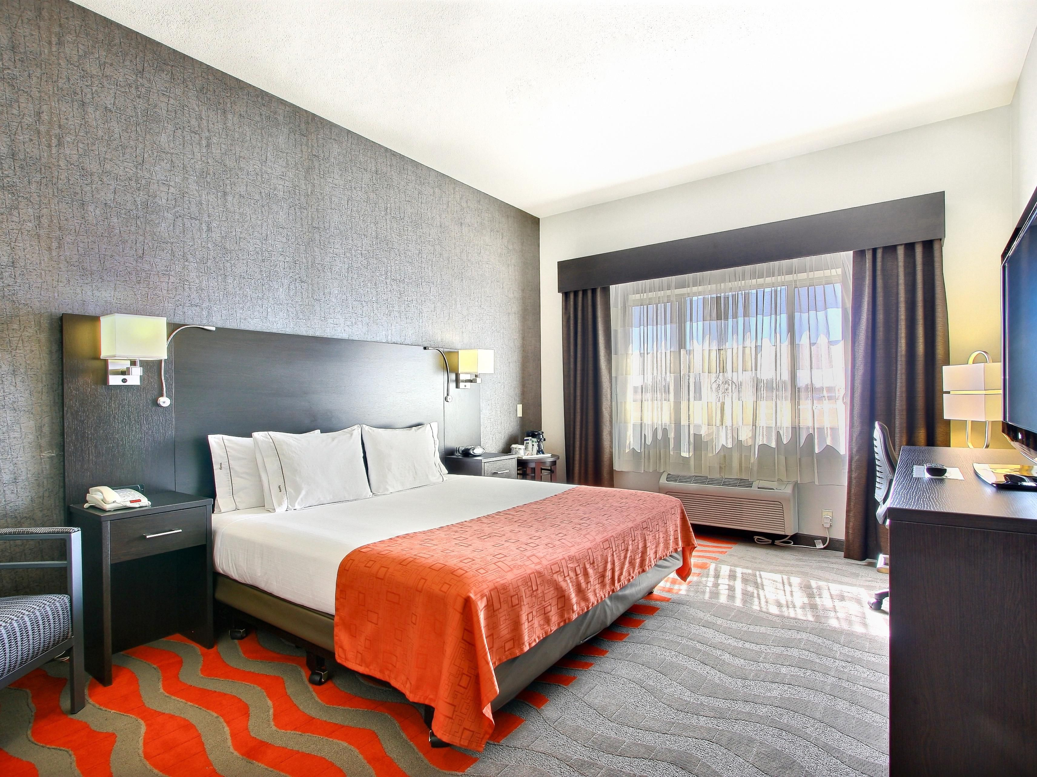Business King Suite Holiday Inn Express and Suites Meridian Idaho
