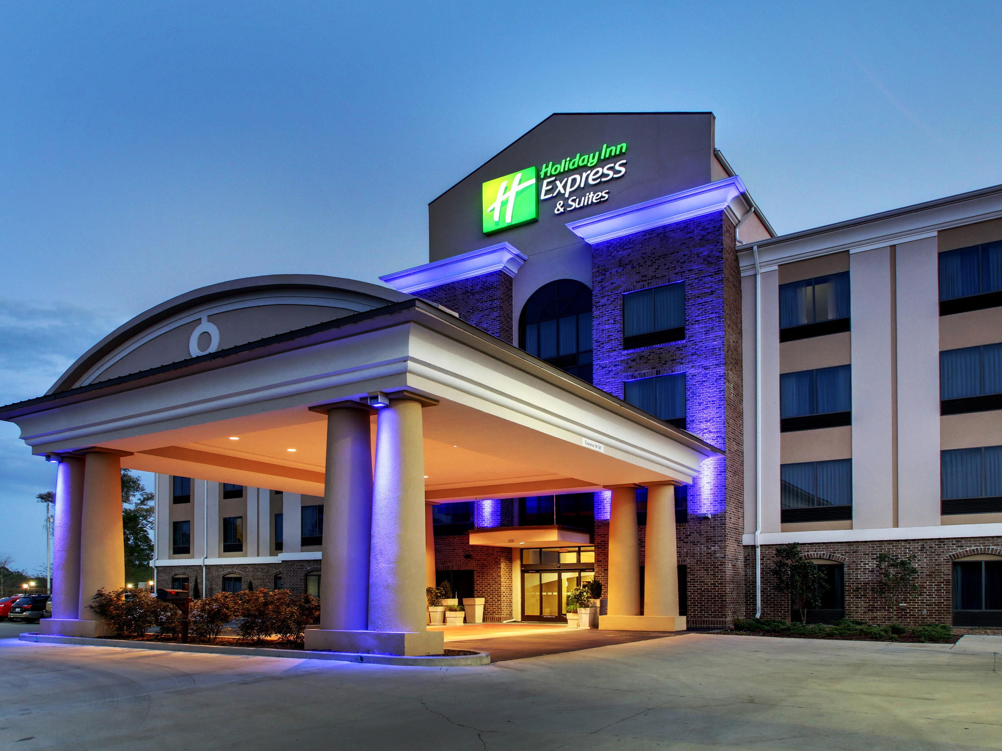Come on in to the Holiday Inn Express -Natchez