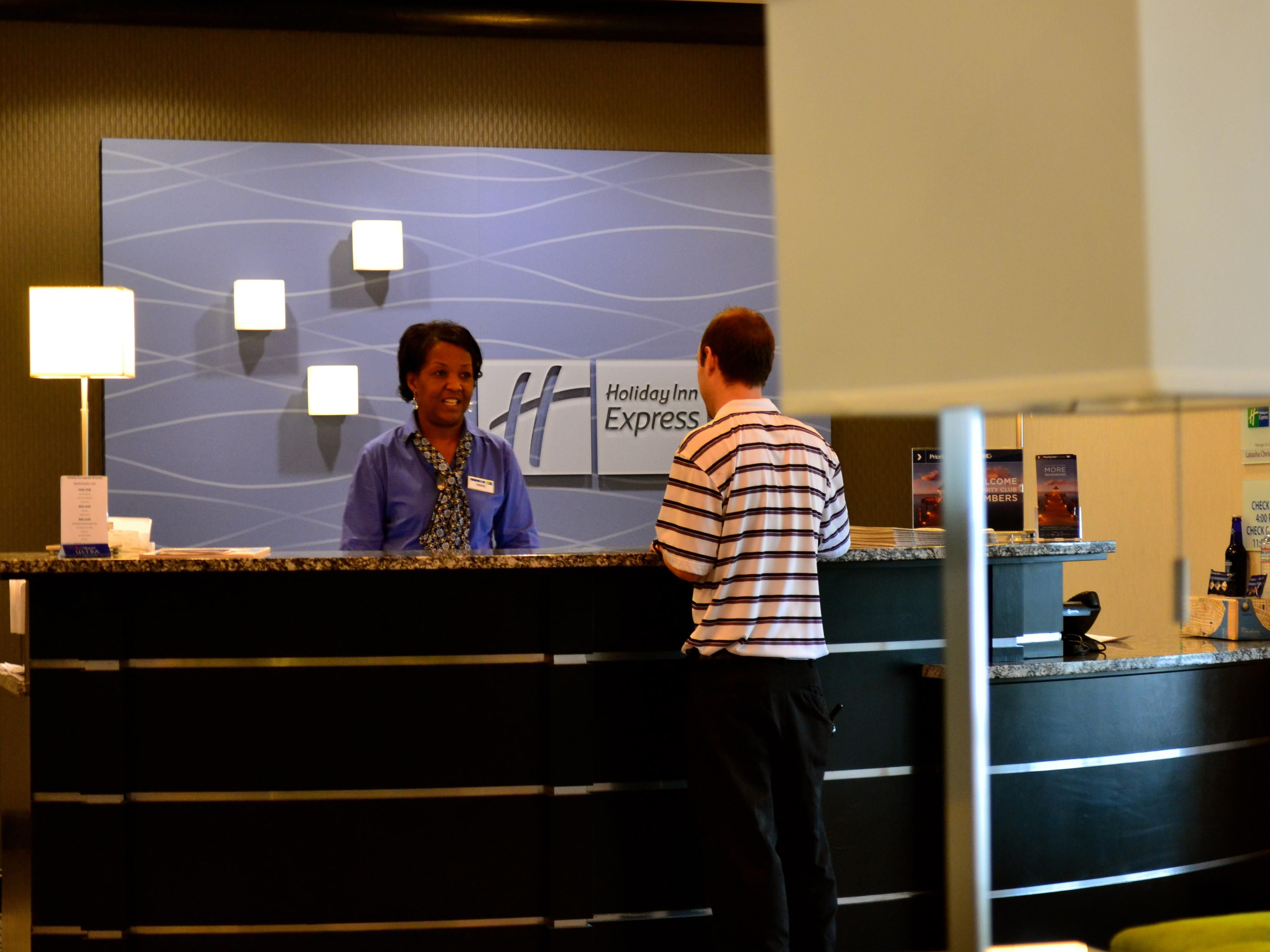 Our Front desk is able to accommodate you during your stay with us