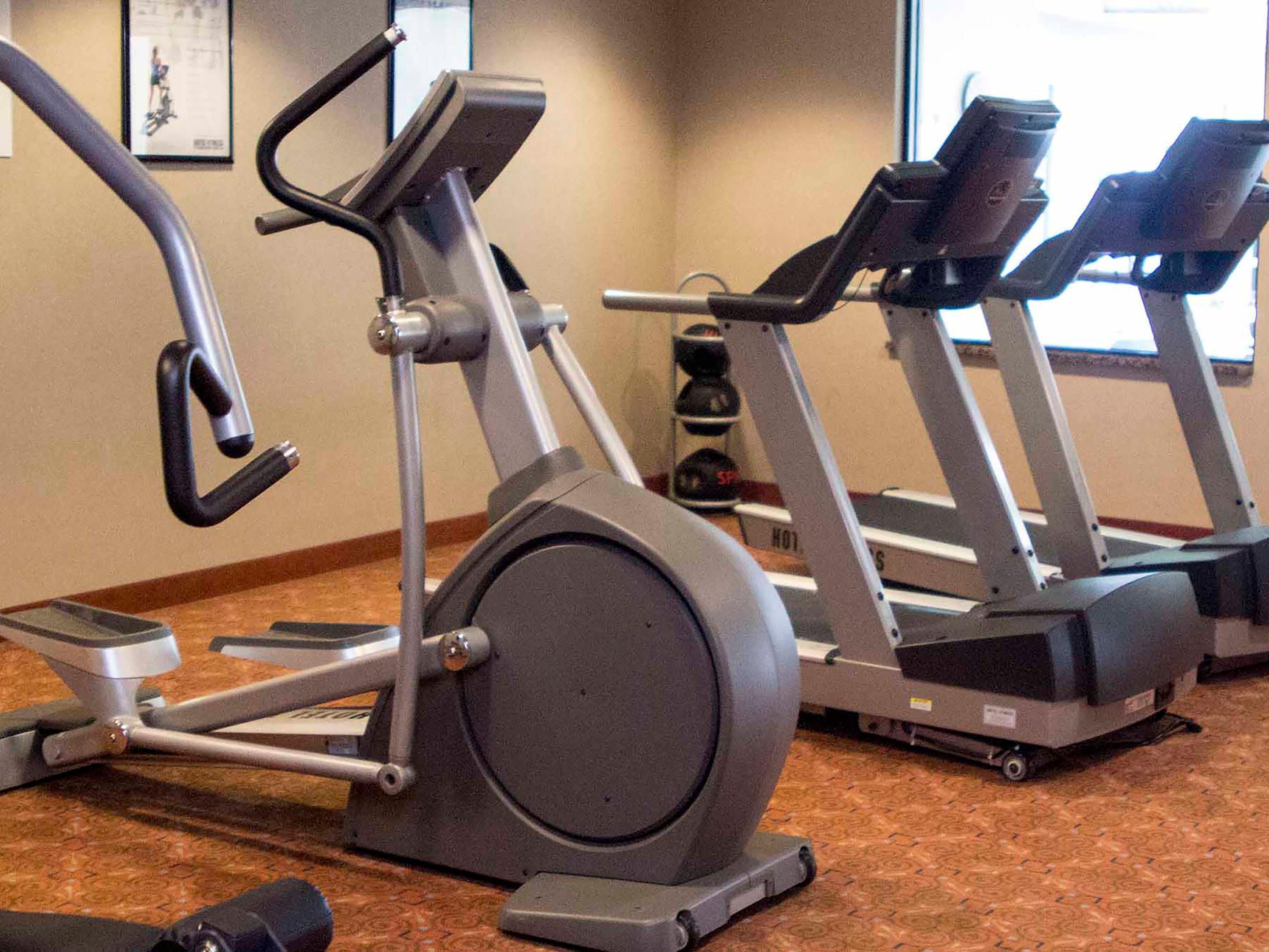 Weight Machine, Two Treadmills, and Eliptical - Fitness Center