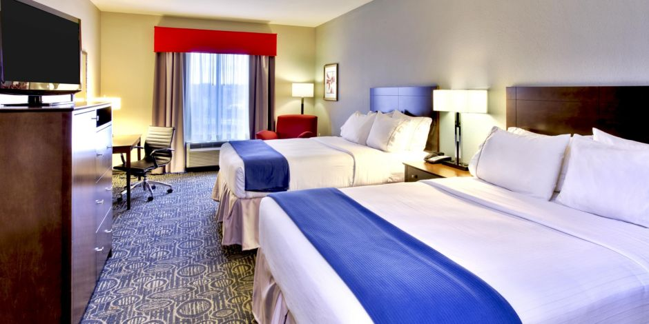Holiday Inn Express Suites Knoxville West Oak Ridge Hotel By IHG - Oakridge bedroom furniture