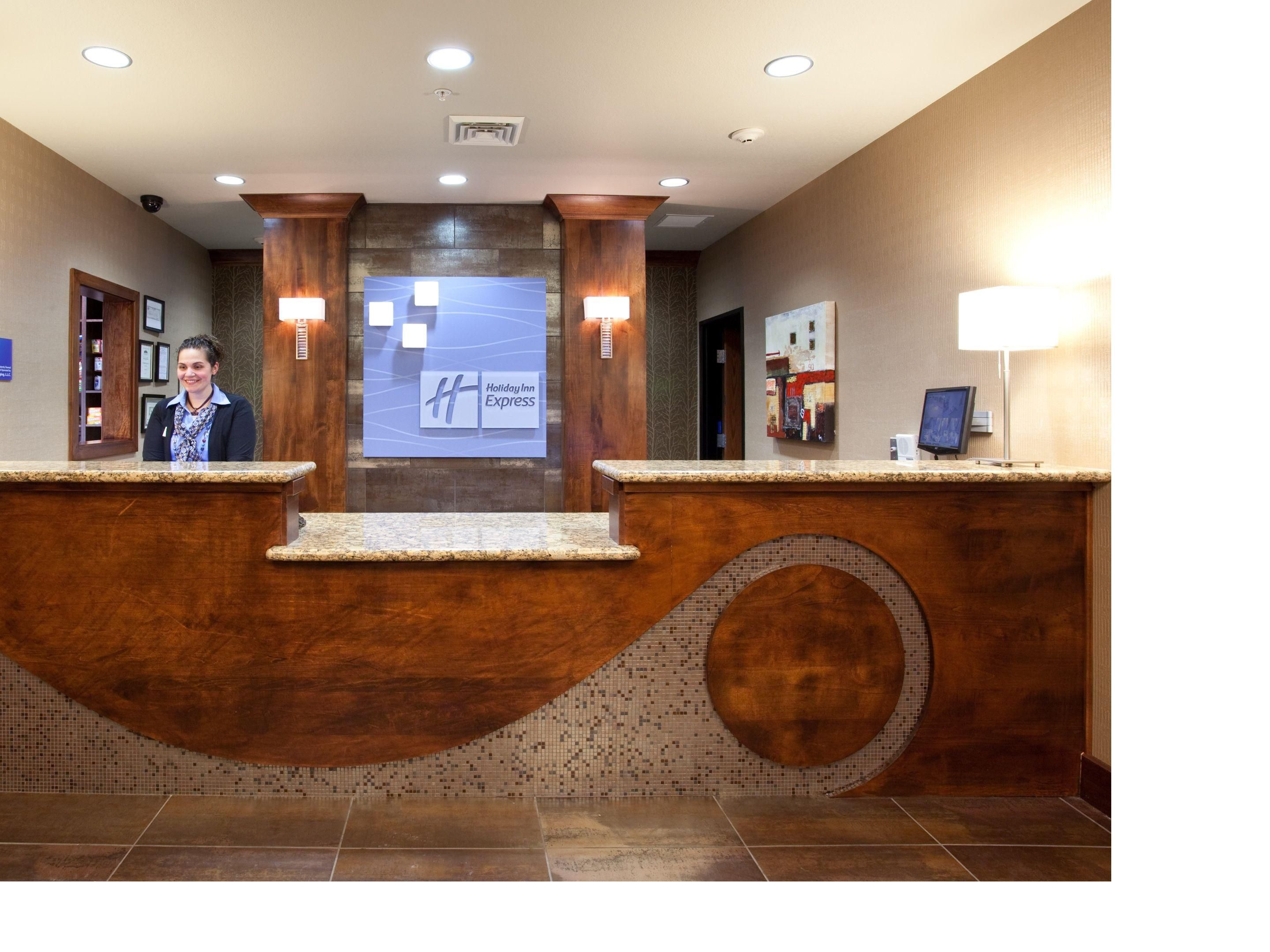 Our Front Desk.