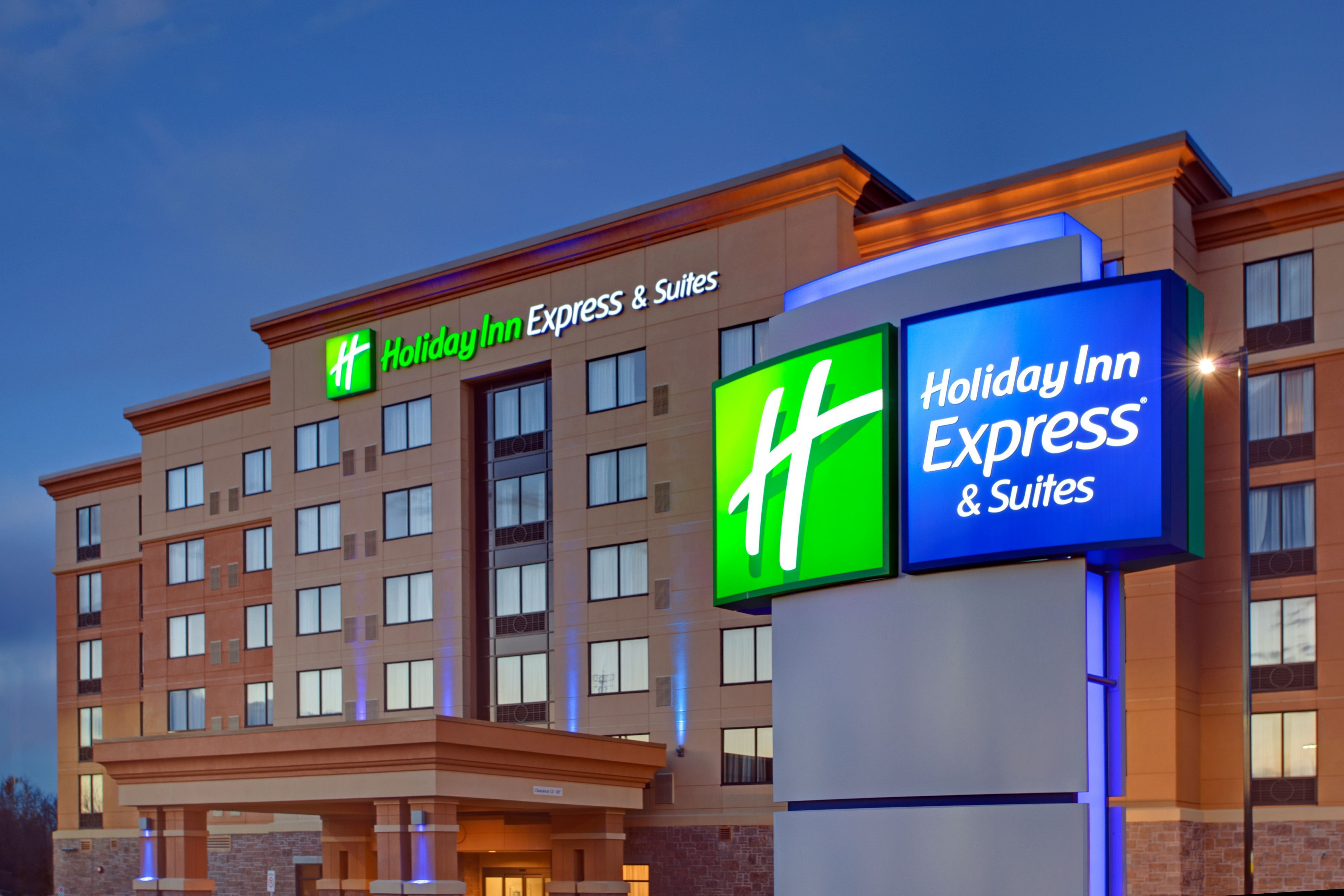 Holiday Inn Express Hotels Map