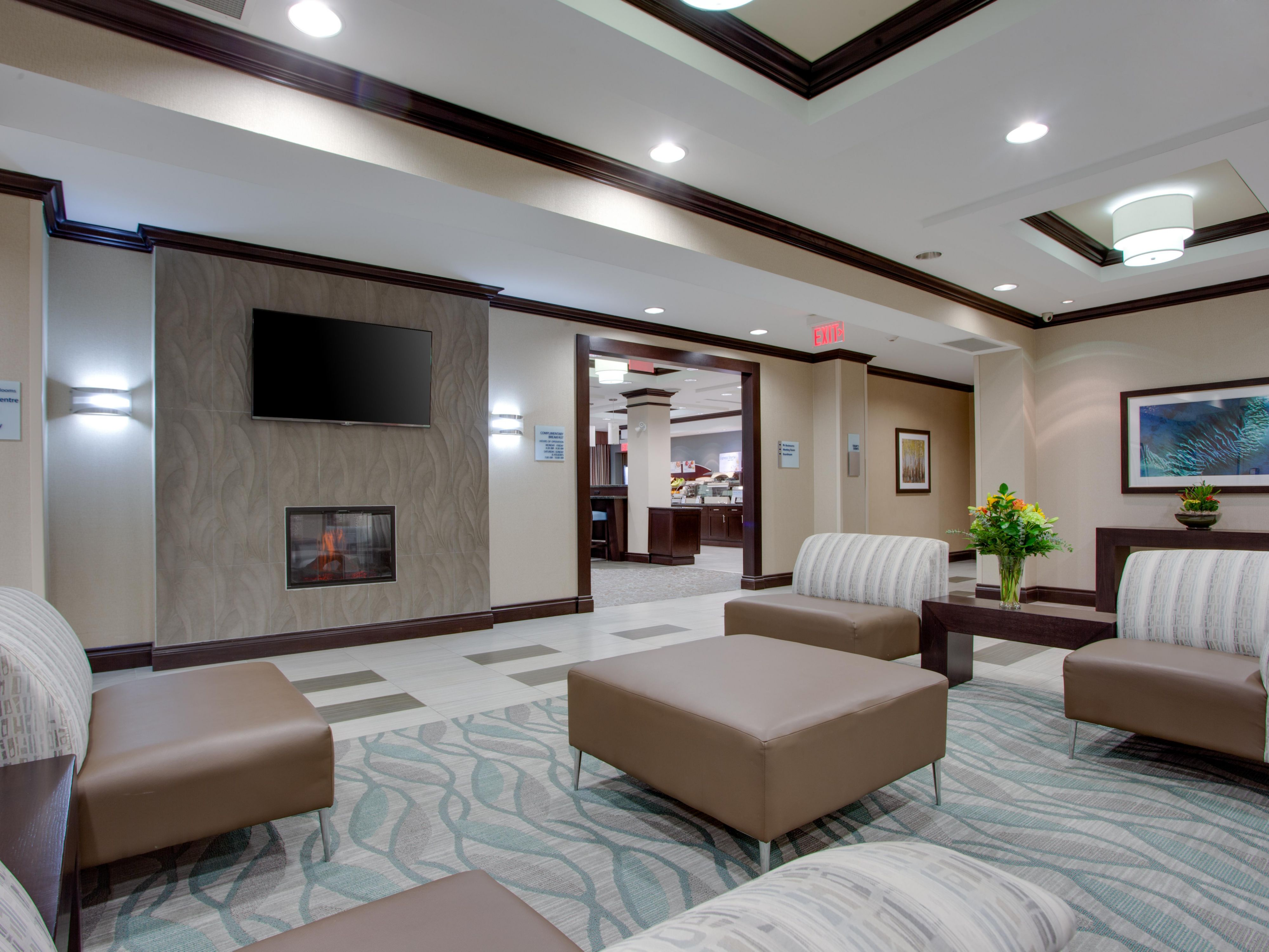 Lobby lounge for your comfort