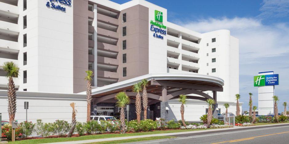 Holiday Inn Express Suites Panama City Beach Beachfront