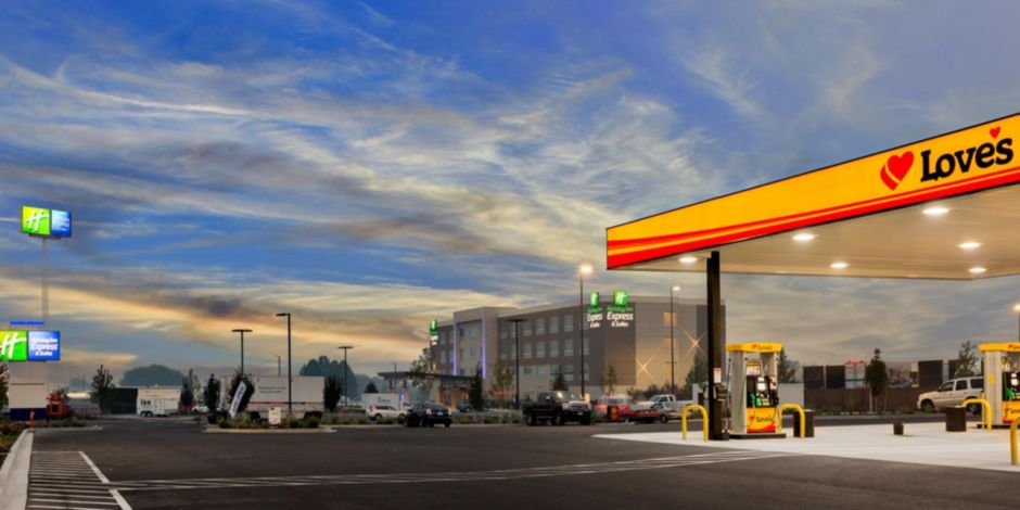 Holiday Inn Express Located Next To Loves Travel Stop Prosser Wa
