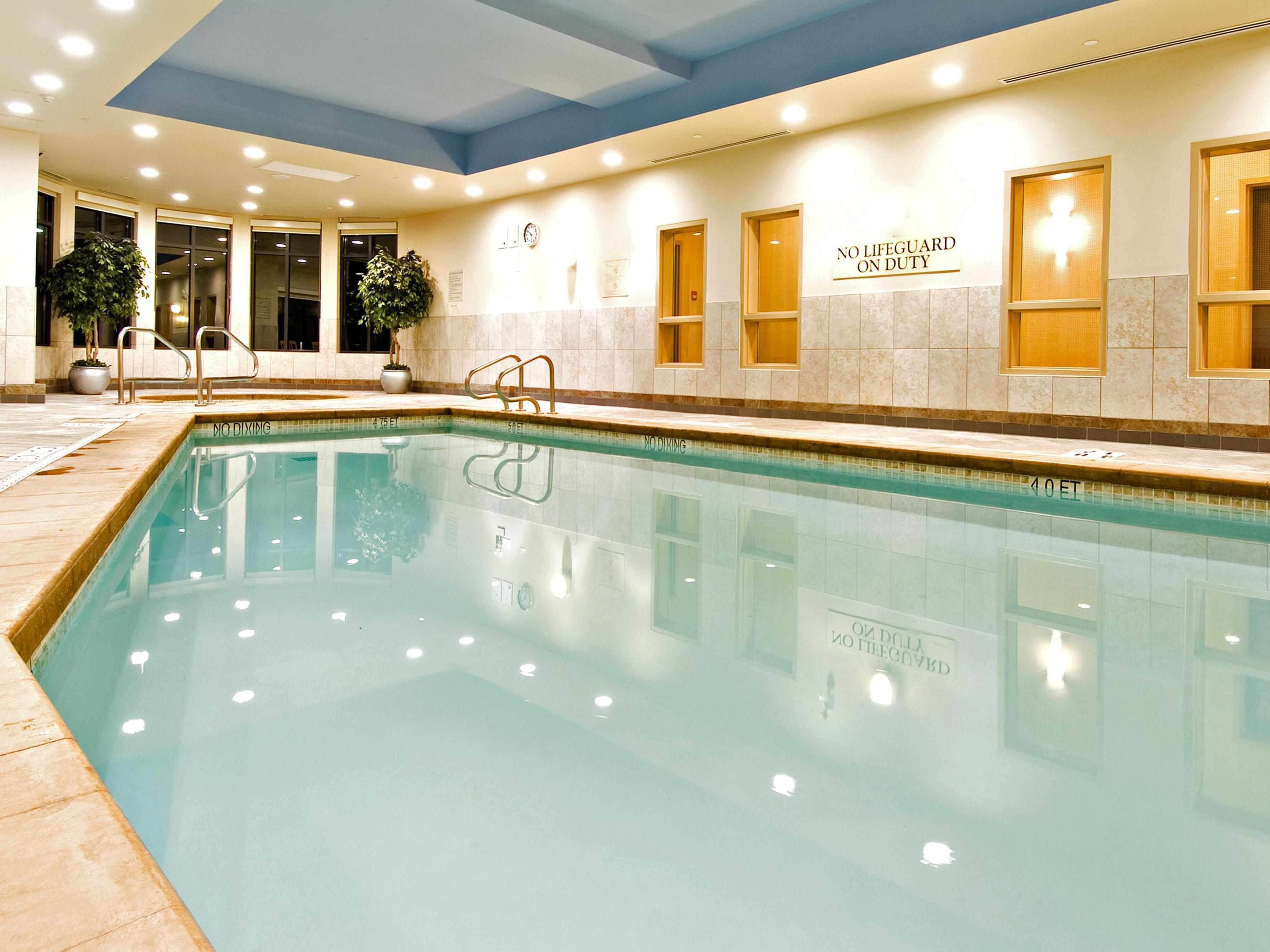 Heated Indoor Pool (Please note the pool closes at 10:30 pm daily)