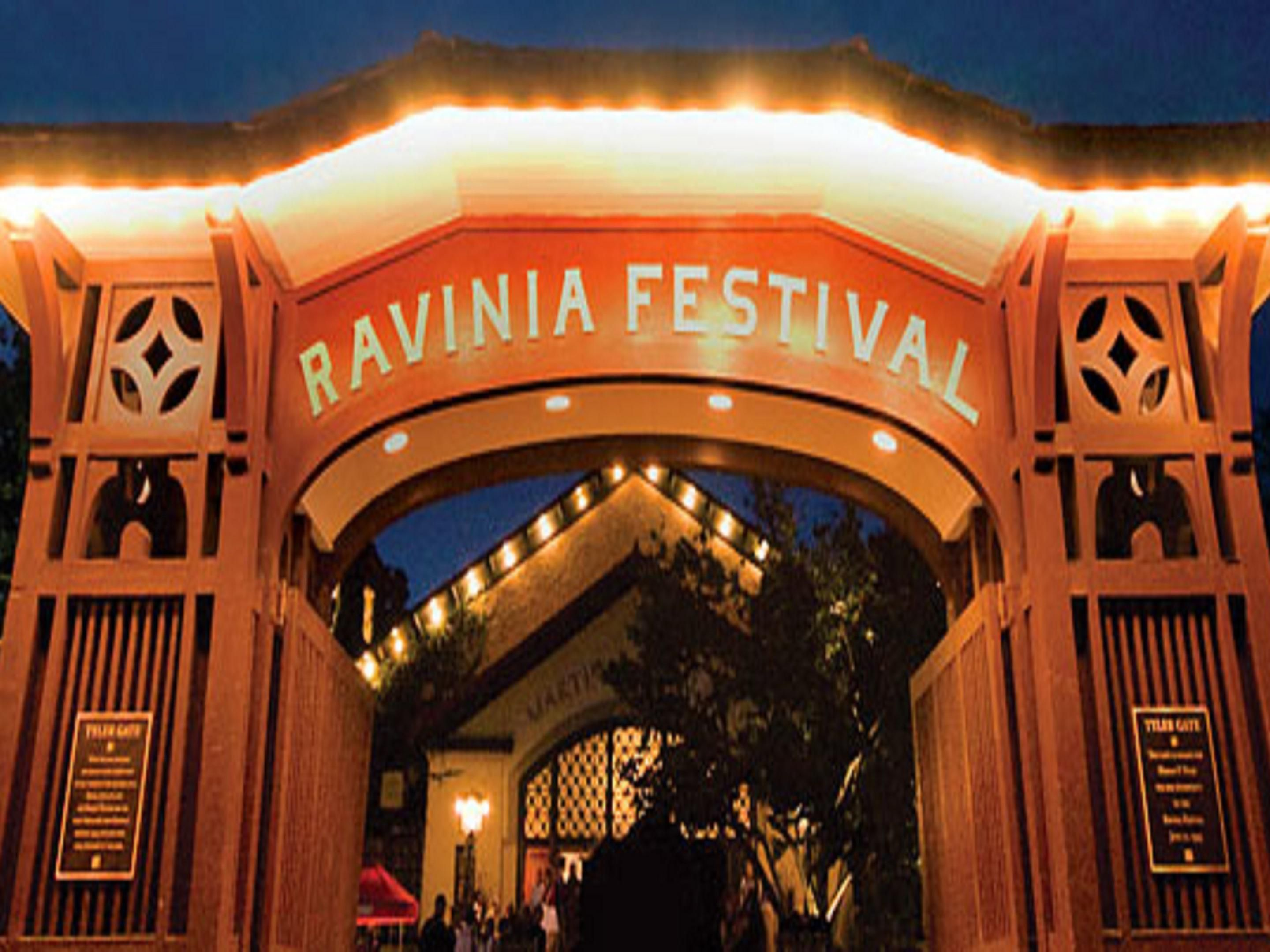 Listen to great live bands at Ravinia Festival