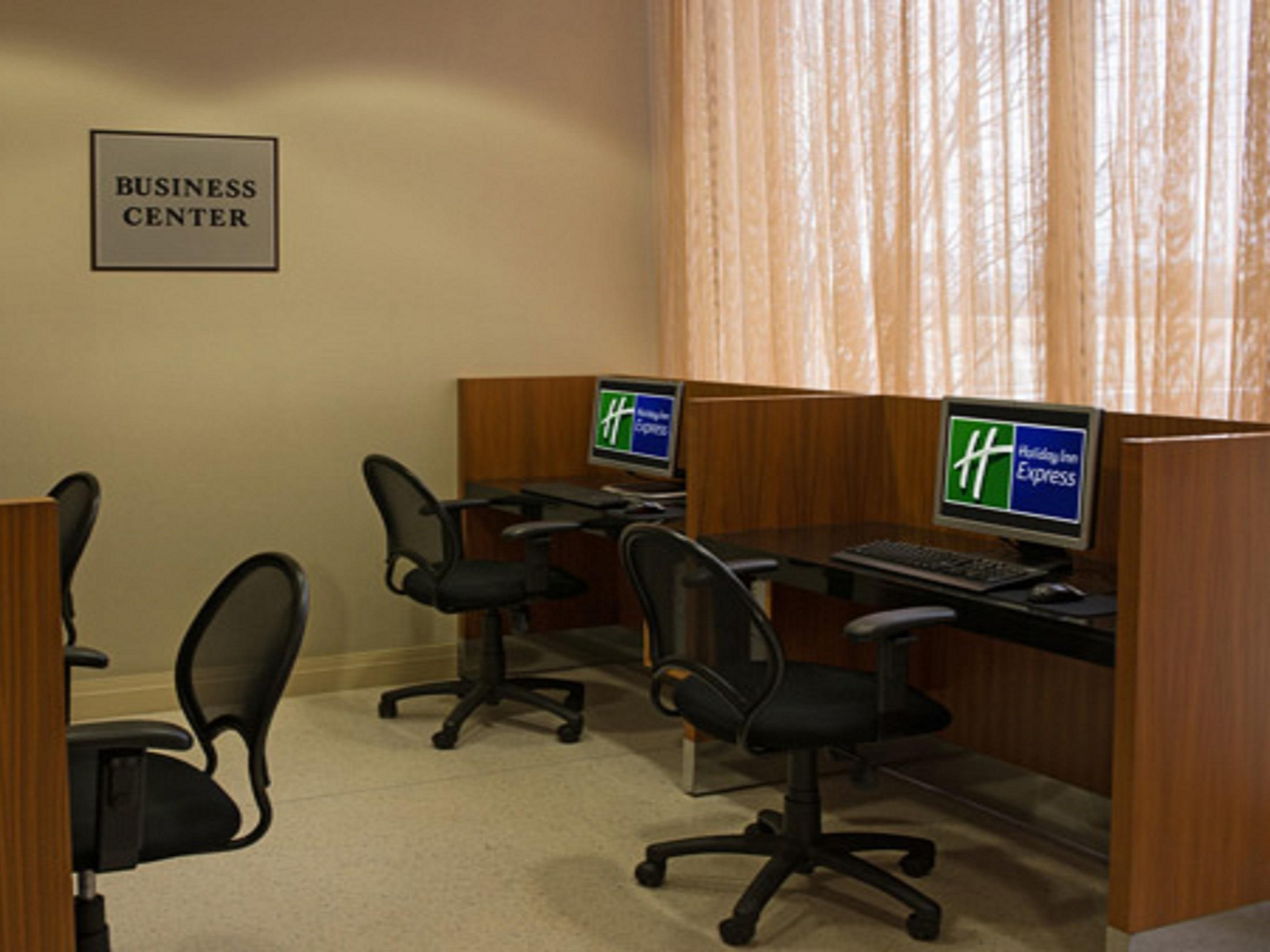 Holiday Inn Express 24-hour Business Center with WIFI and printer