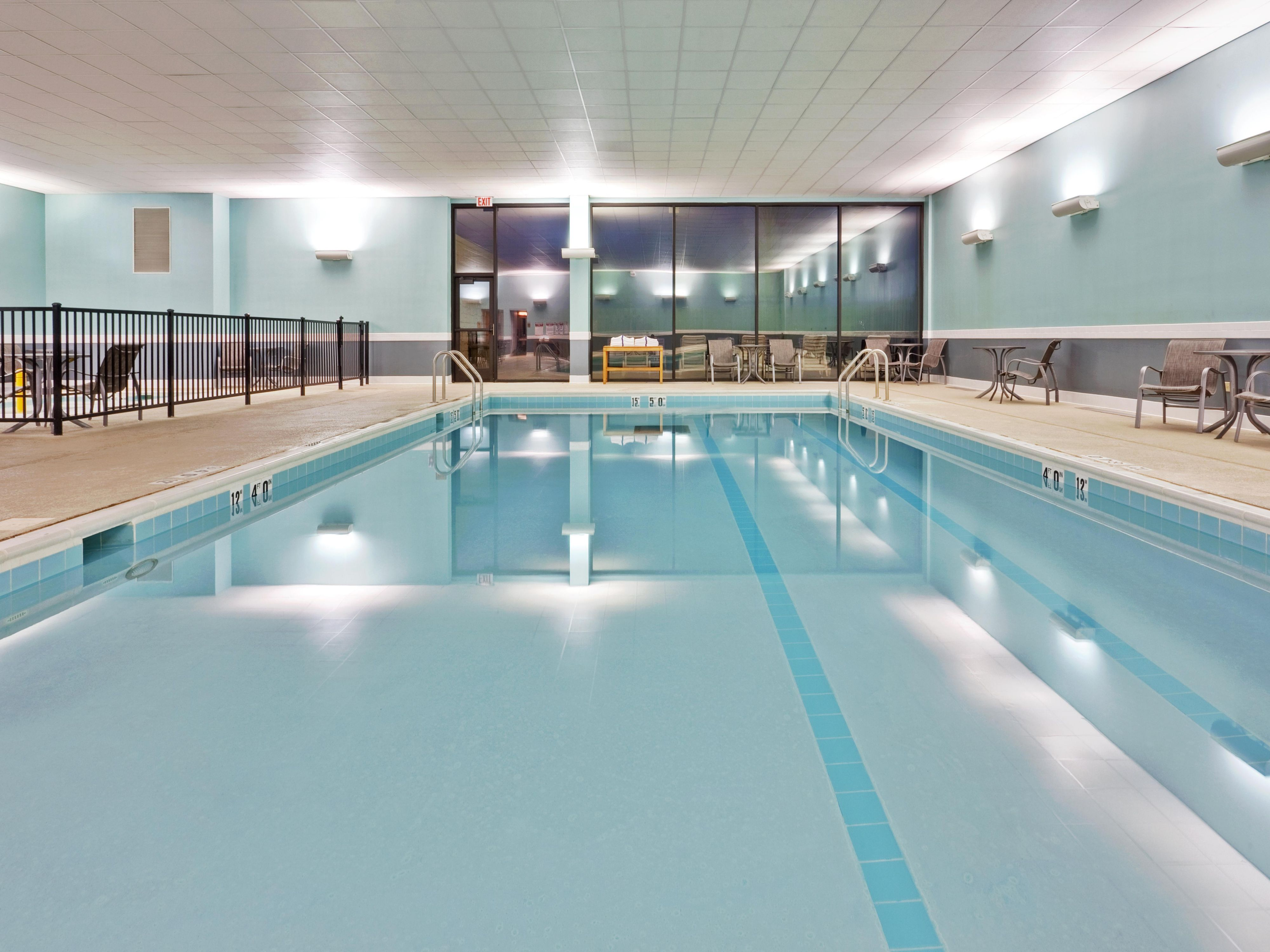 Holiday Inn Express Indoor Swimming Pool is perfect rain or shine