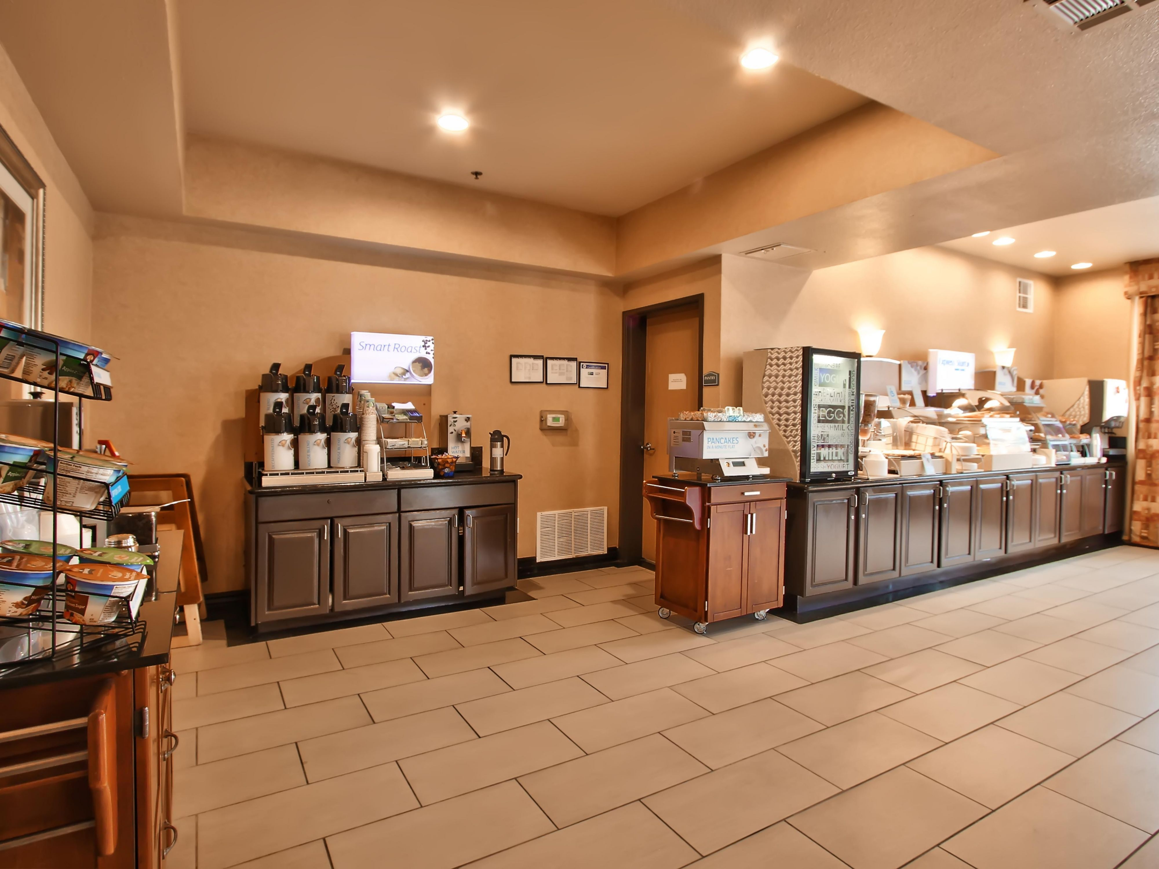 Oatmeal Station & coffee bar