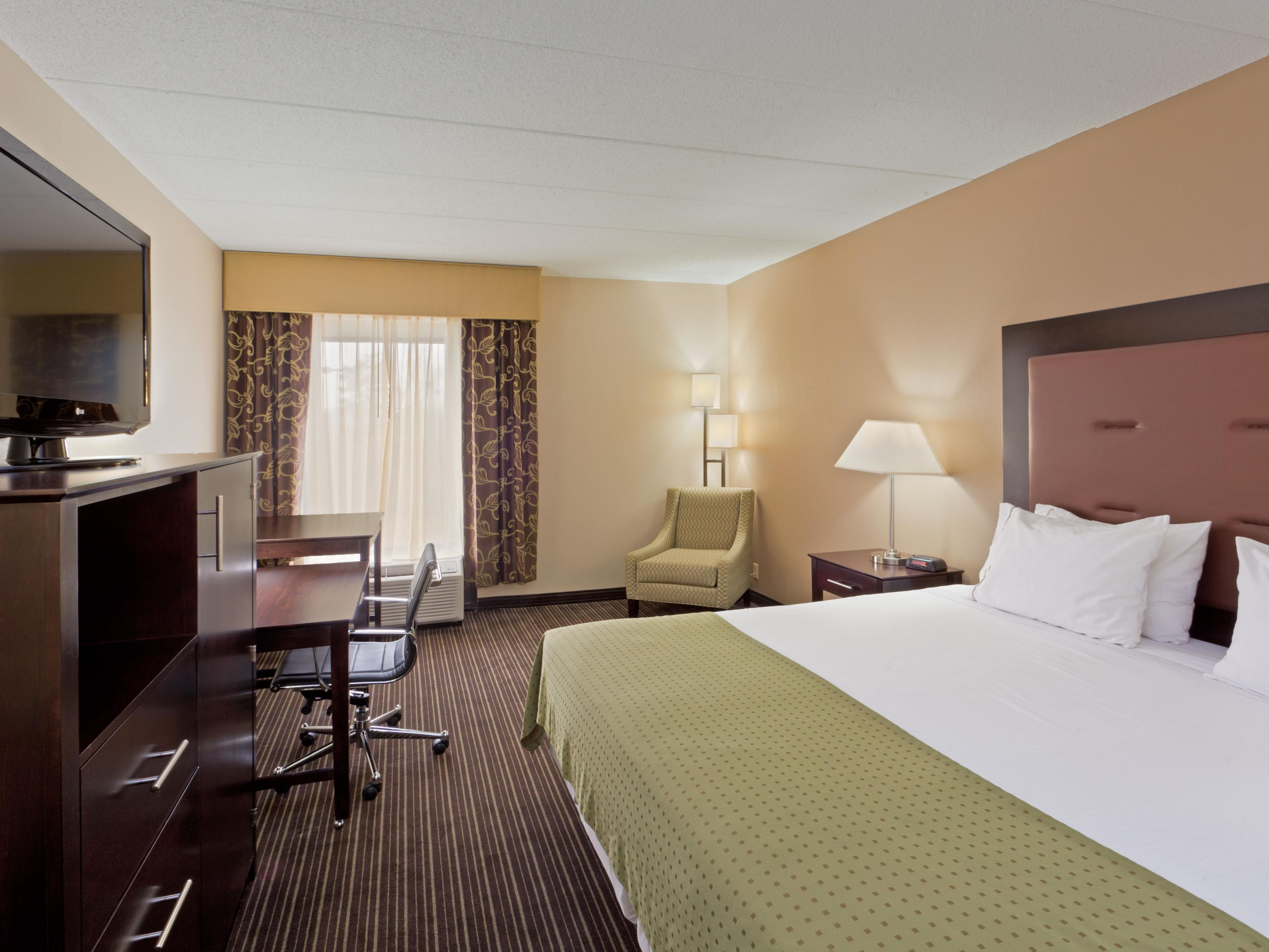 Relax and get some work done in one of our King Executive Suites