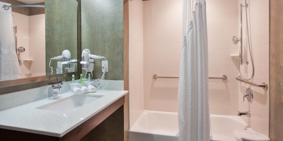 Holiday Inn Express Suites St Louis Airport Hotel By IHG - 10000 usd bathroom remodel