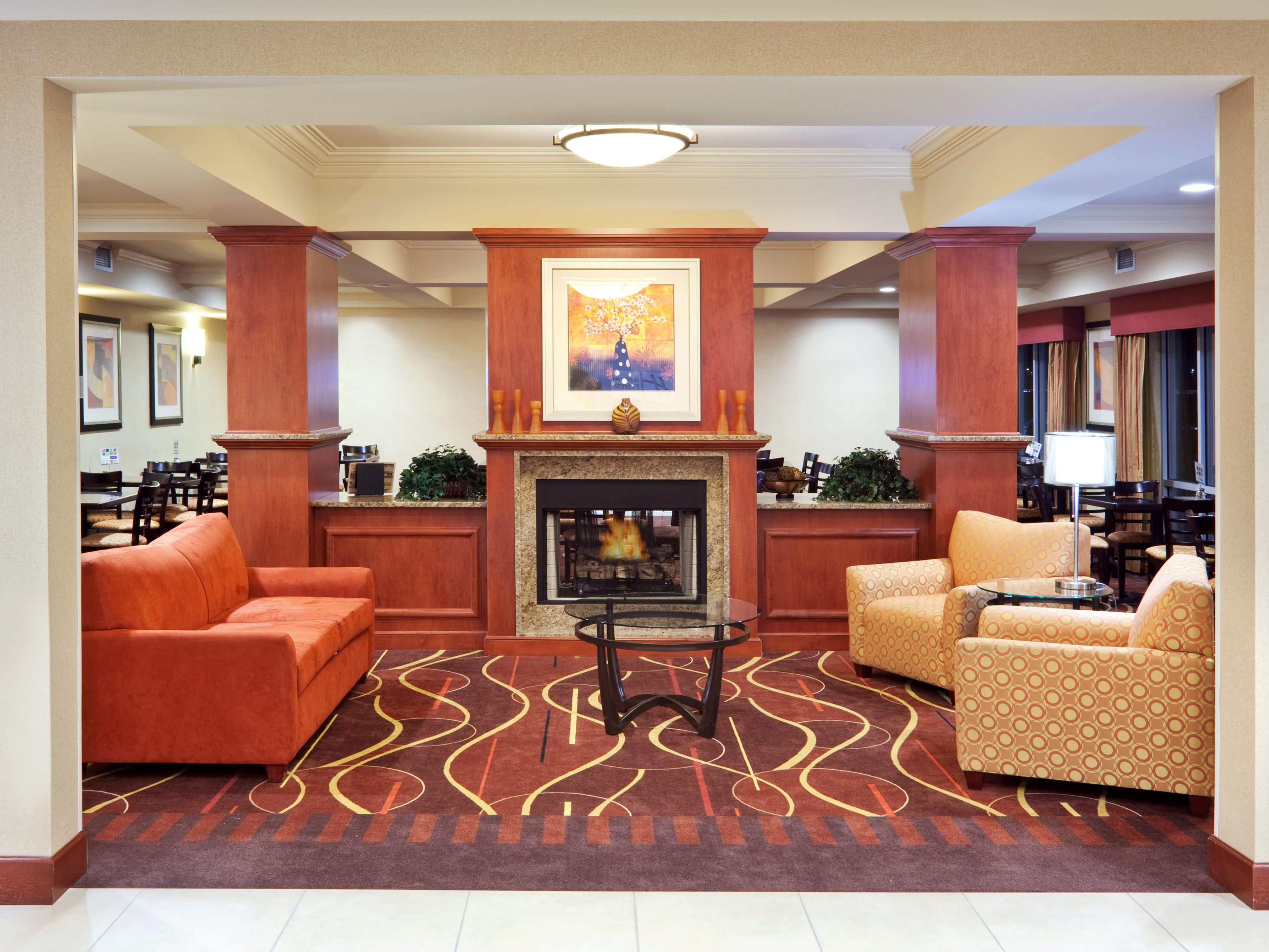 Holiday Inn Express Sumner Hotel Lobby