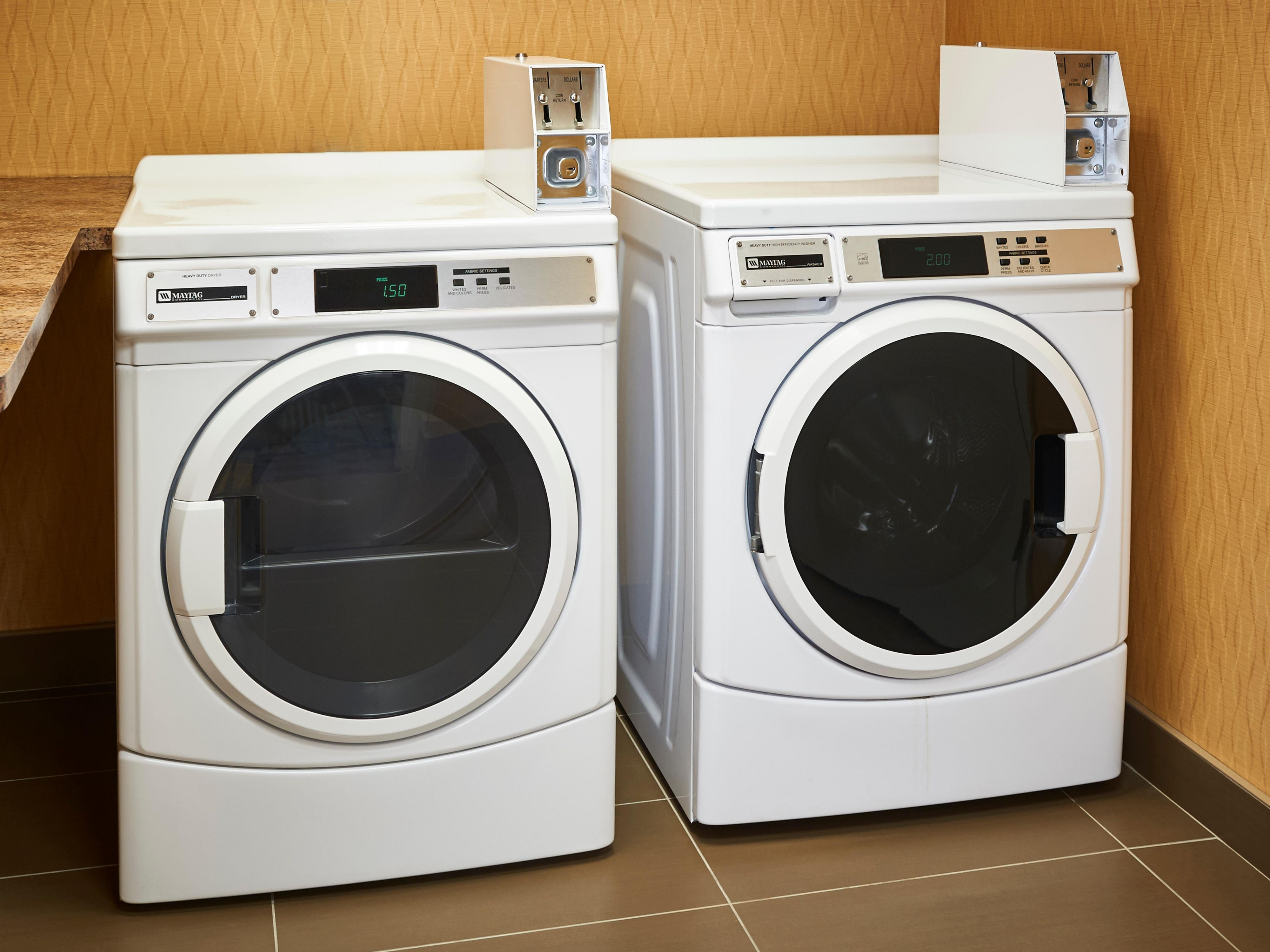 Coin operated laundry keep long term travellers on-the-go