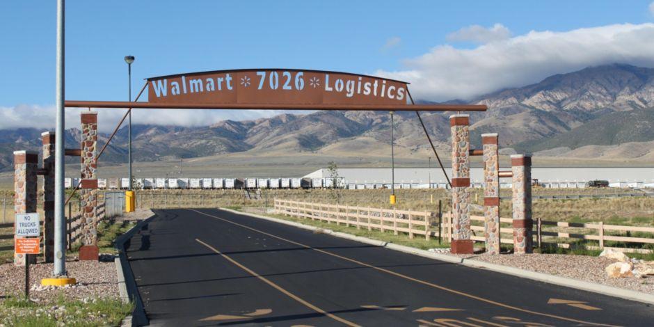 walmart distribution center grantsville utah 15 miles