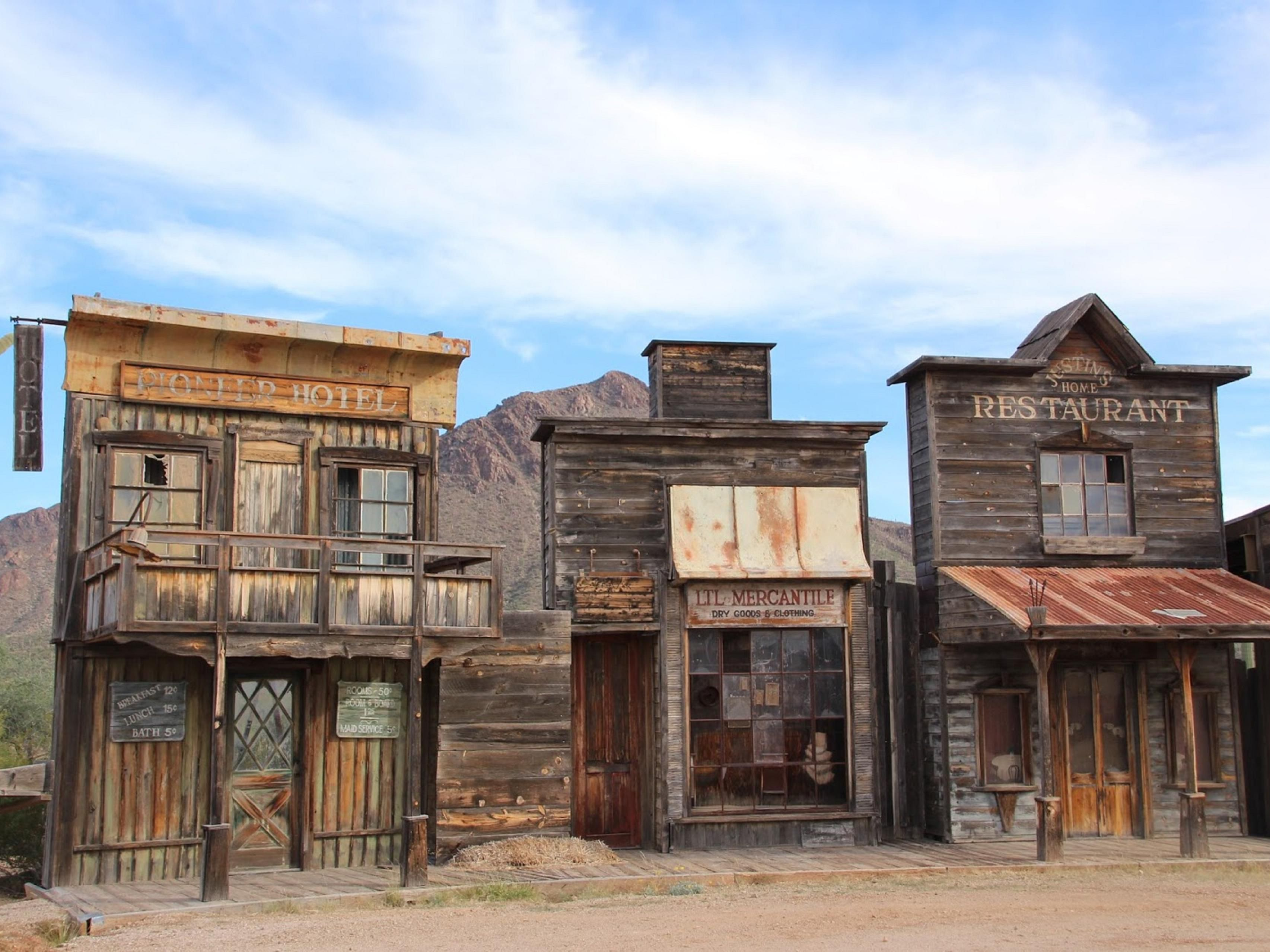 Must see Old Tucson Studios while visiting the area