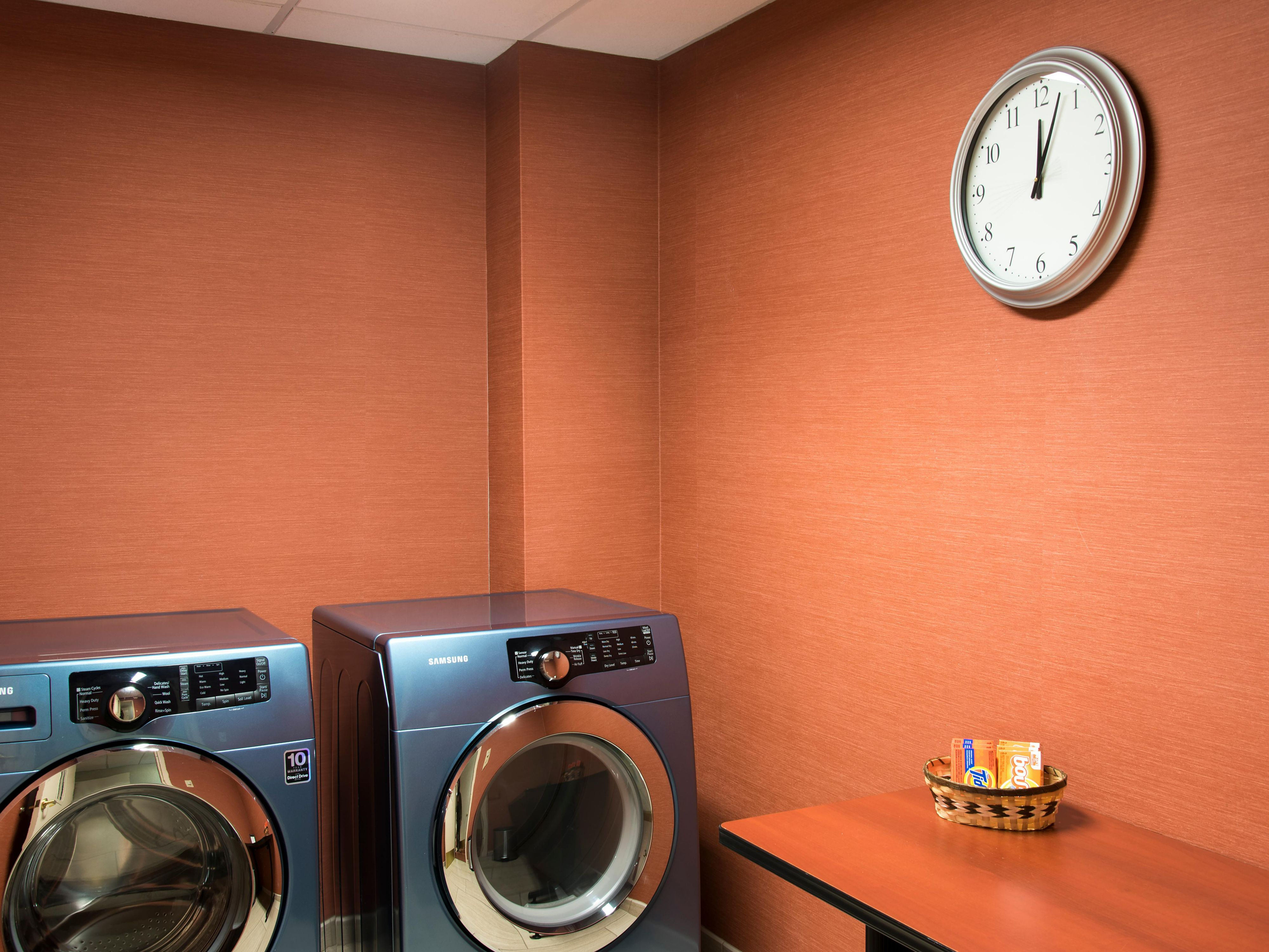 Complimentary Guest Laundry