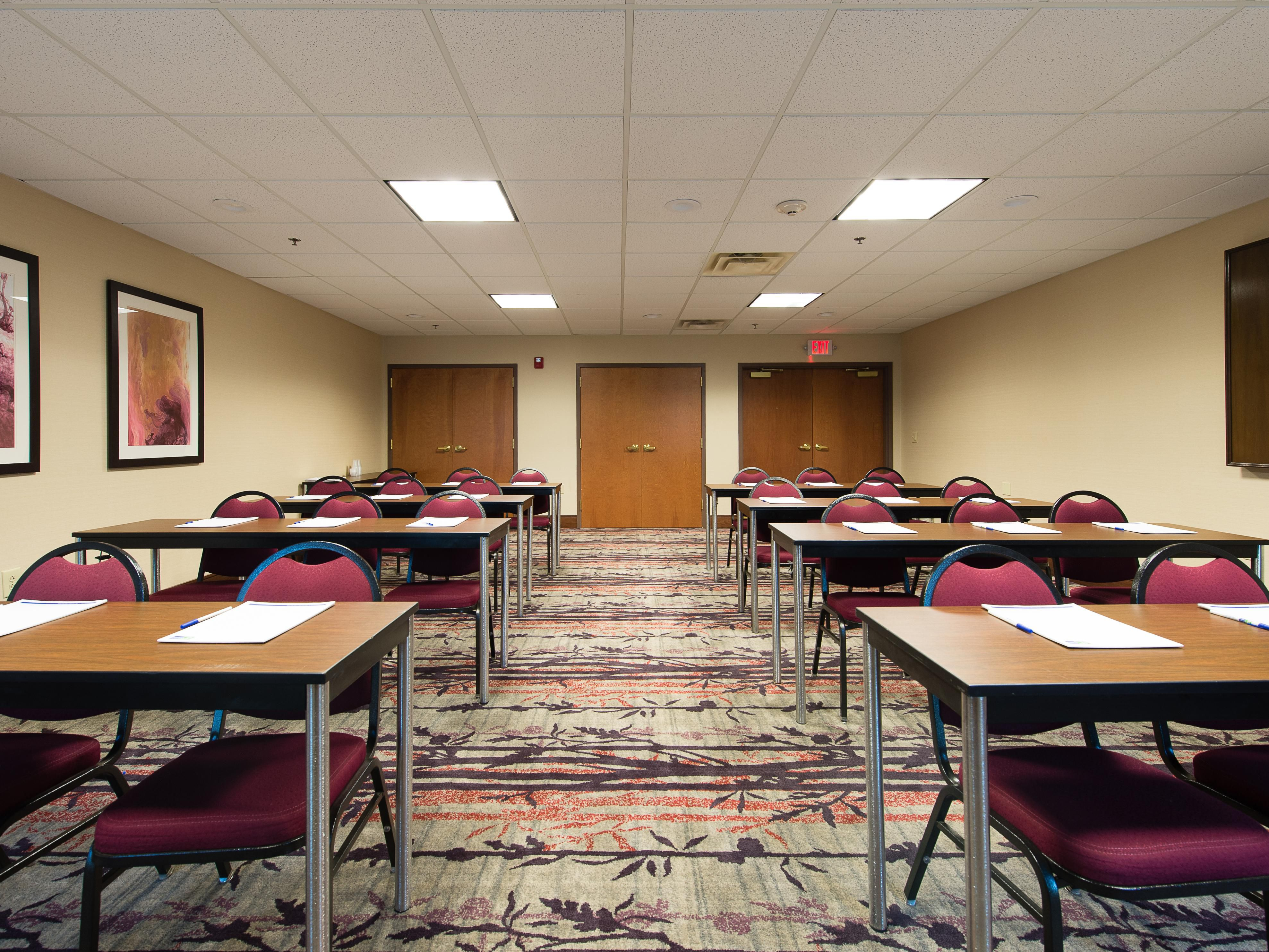 Call us today to book our meeting space