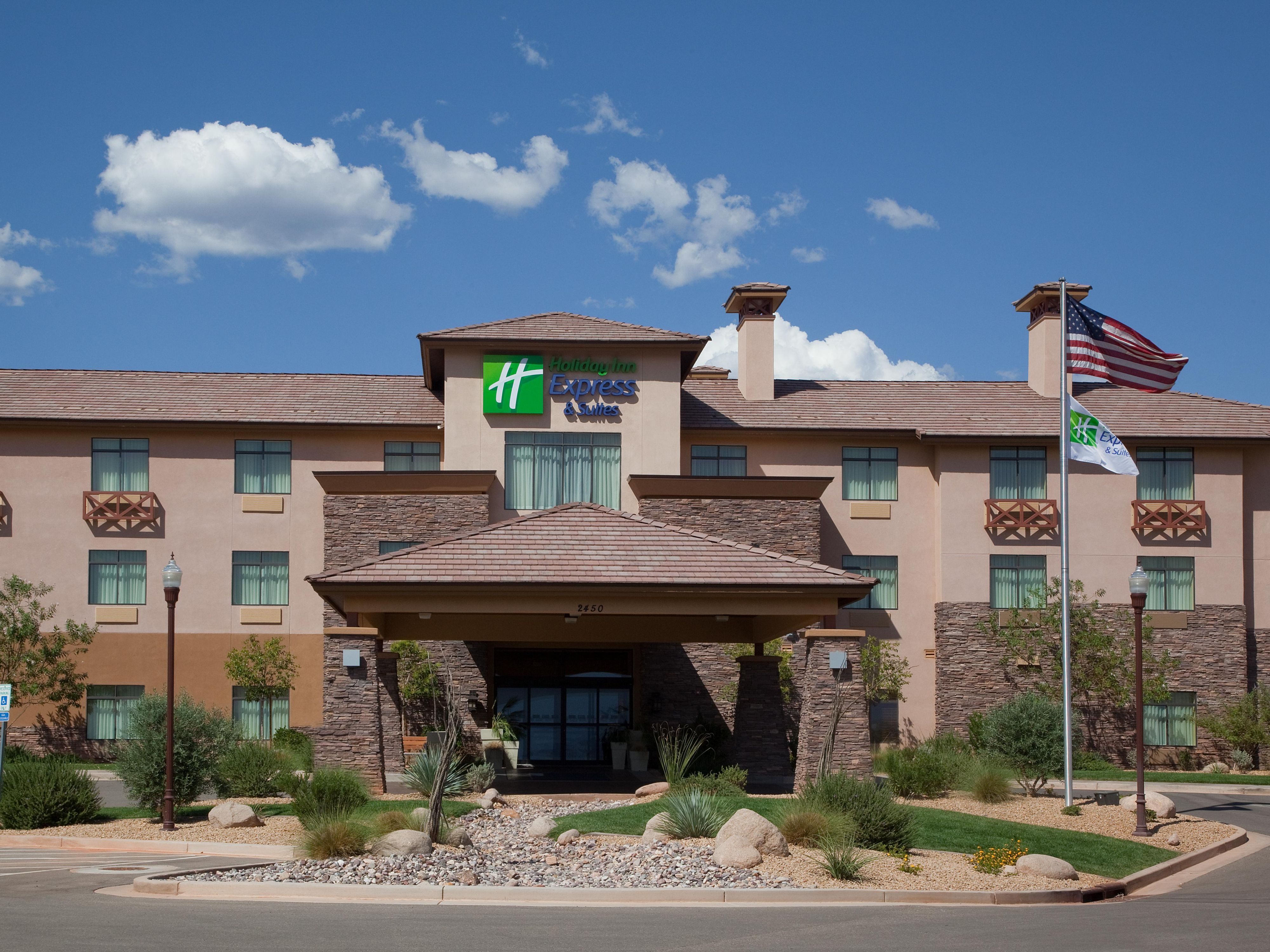 Take in the stunning views at the Holiday Inn Express & Suites